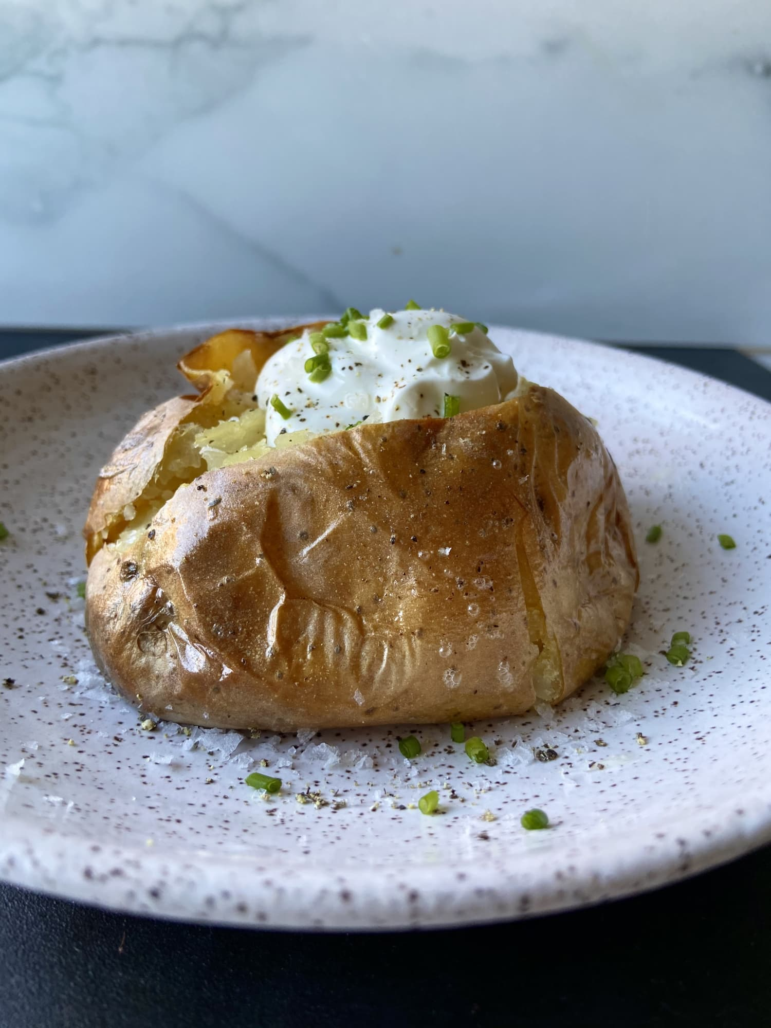 Martha Stewart Just Taught Me the Secret to the Best-Ever Baked Potato