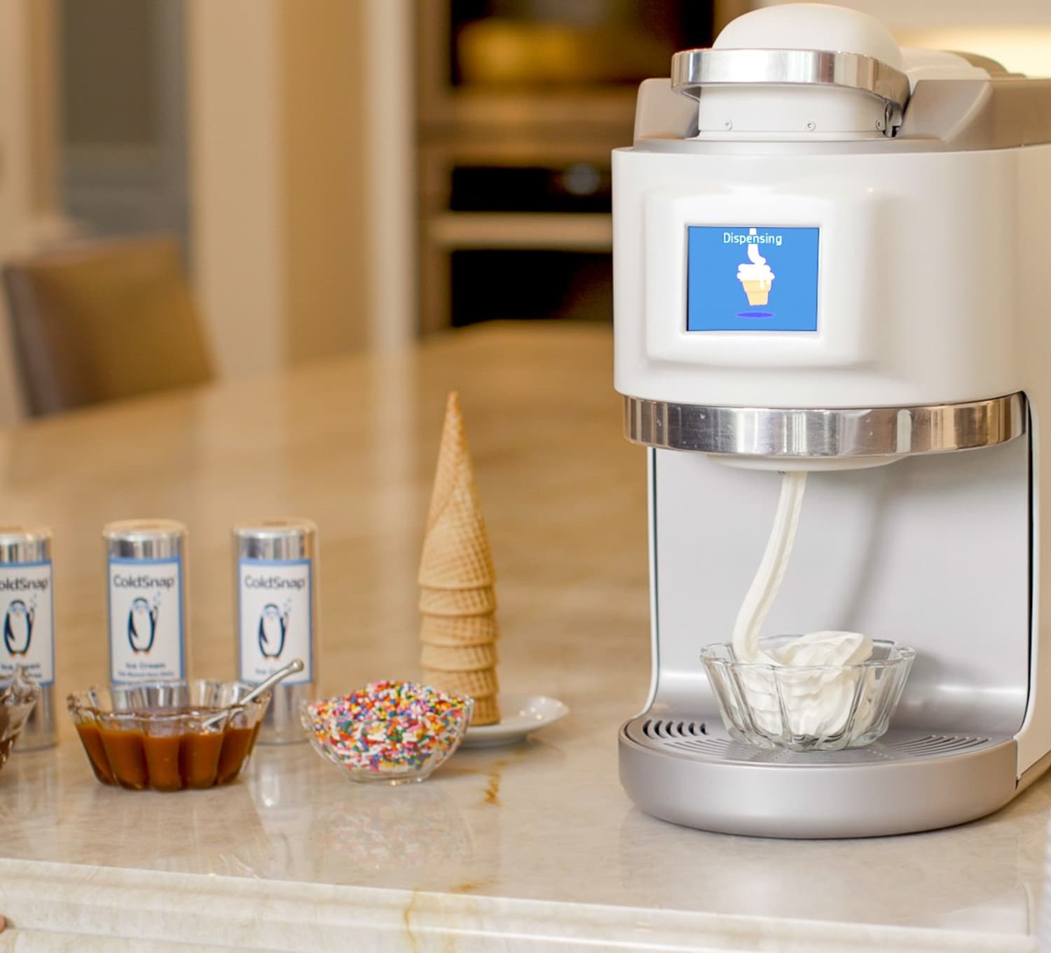 This New Pod Machine Is Basically a Keurig, but for Ice Cream