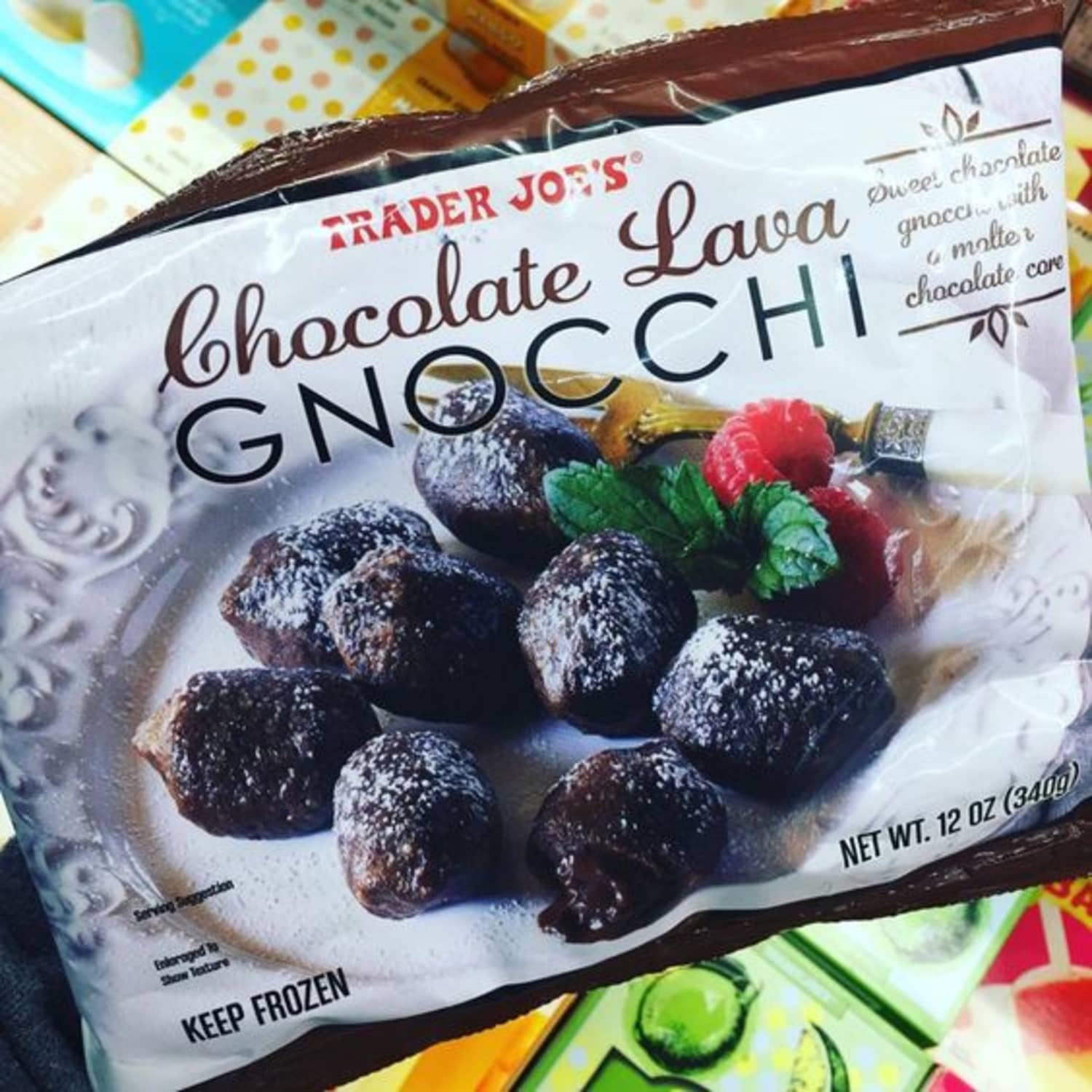 Trader Joe's Is Now Selling Chocolate Lava Gnocchi and I'm Totally Freaking Out