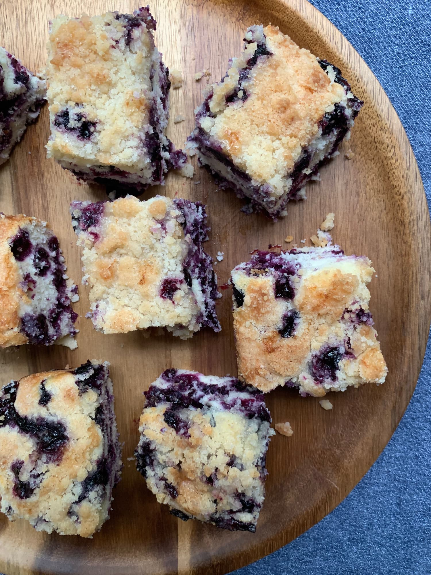 Alton Brown's Best Recipe Isn't a Crazy Hack — It's This Simple Blueberry Buckle