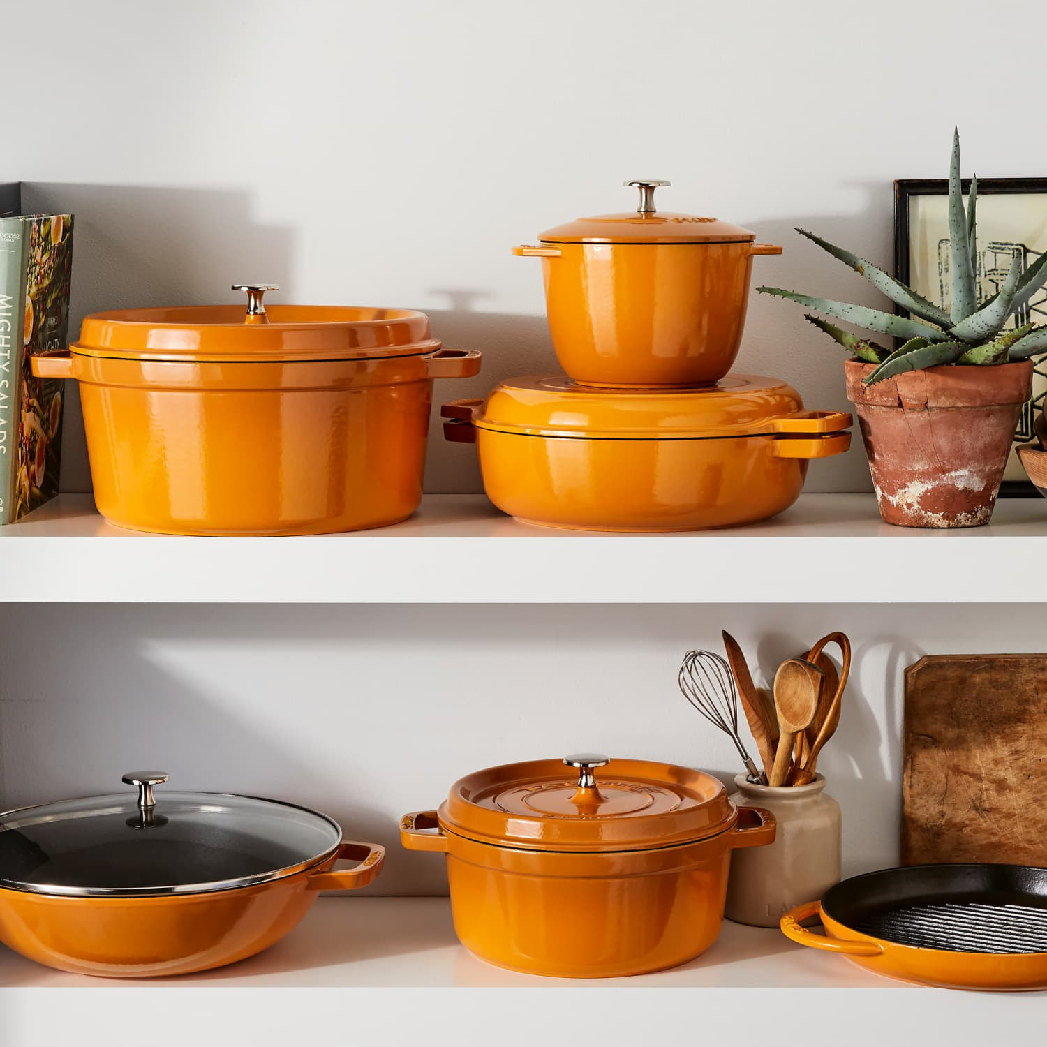 Staub Just Launched Cookware in Turmeric