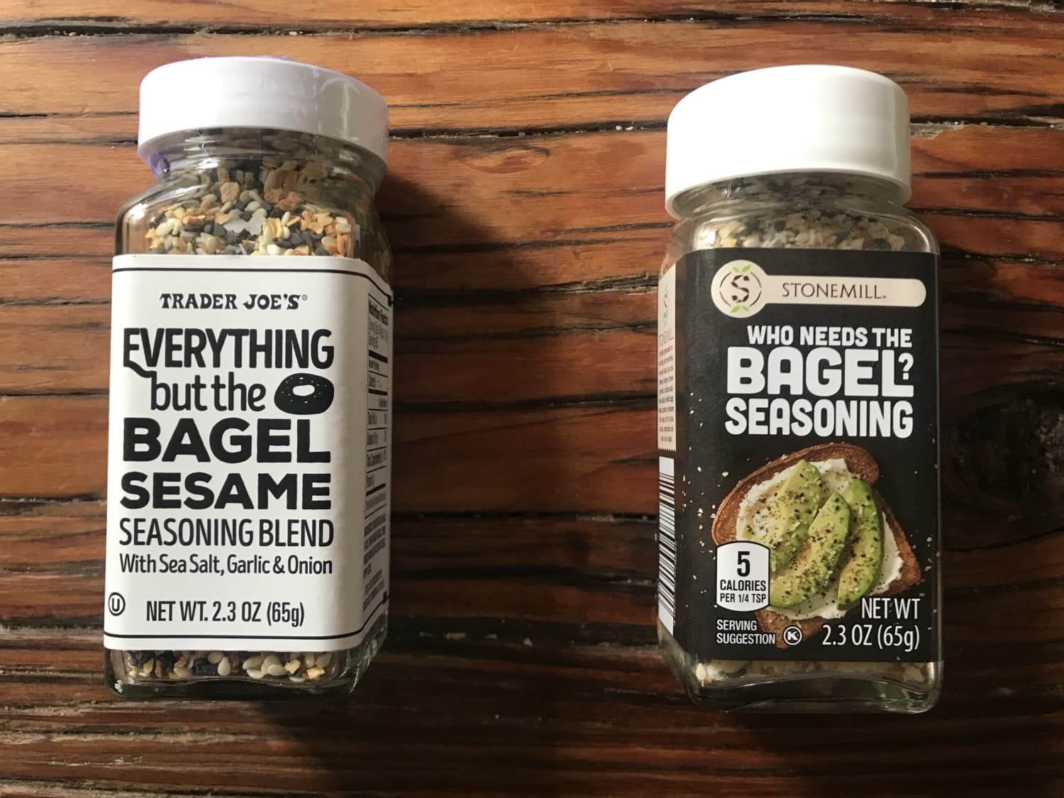 We Compared Trader Joe's Everything but the Bagel Seasoning Against Aldi's New Version