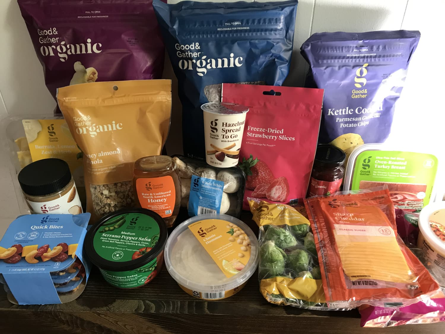 "I Tried a Bunch of Groceries from Target's New ""Good & Gather"" Line — Here's What I'll Be Buying Again"