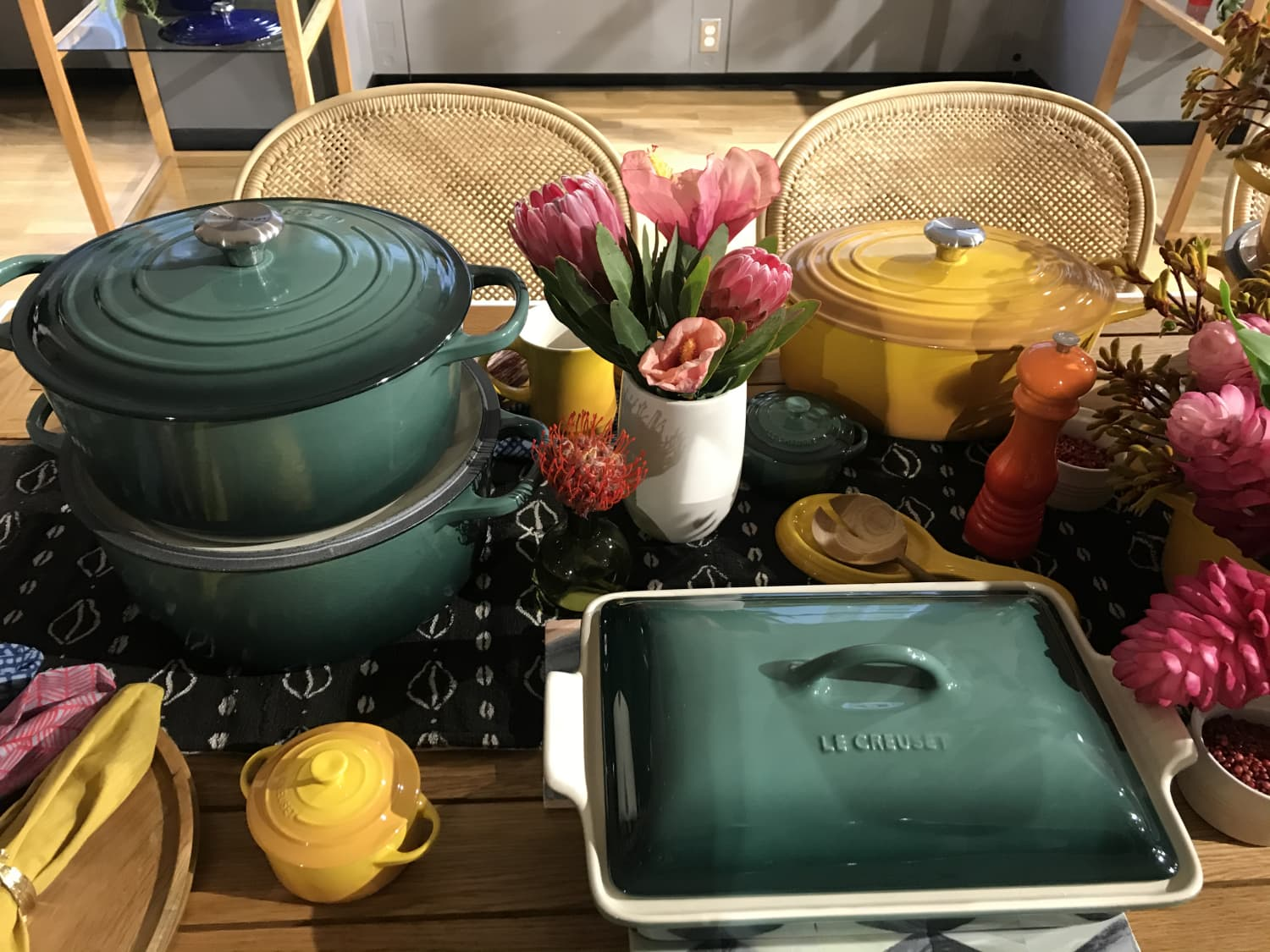 Le Creuset Just Announced Two New Colors — And They're Very Different Than the Last Bunch