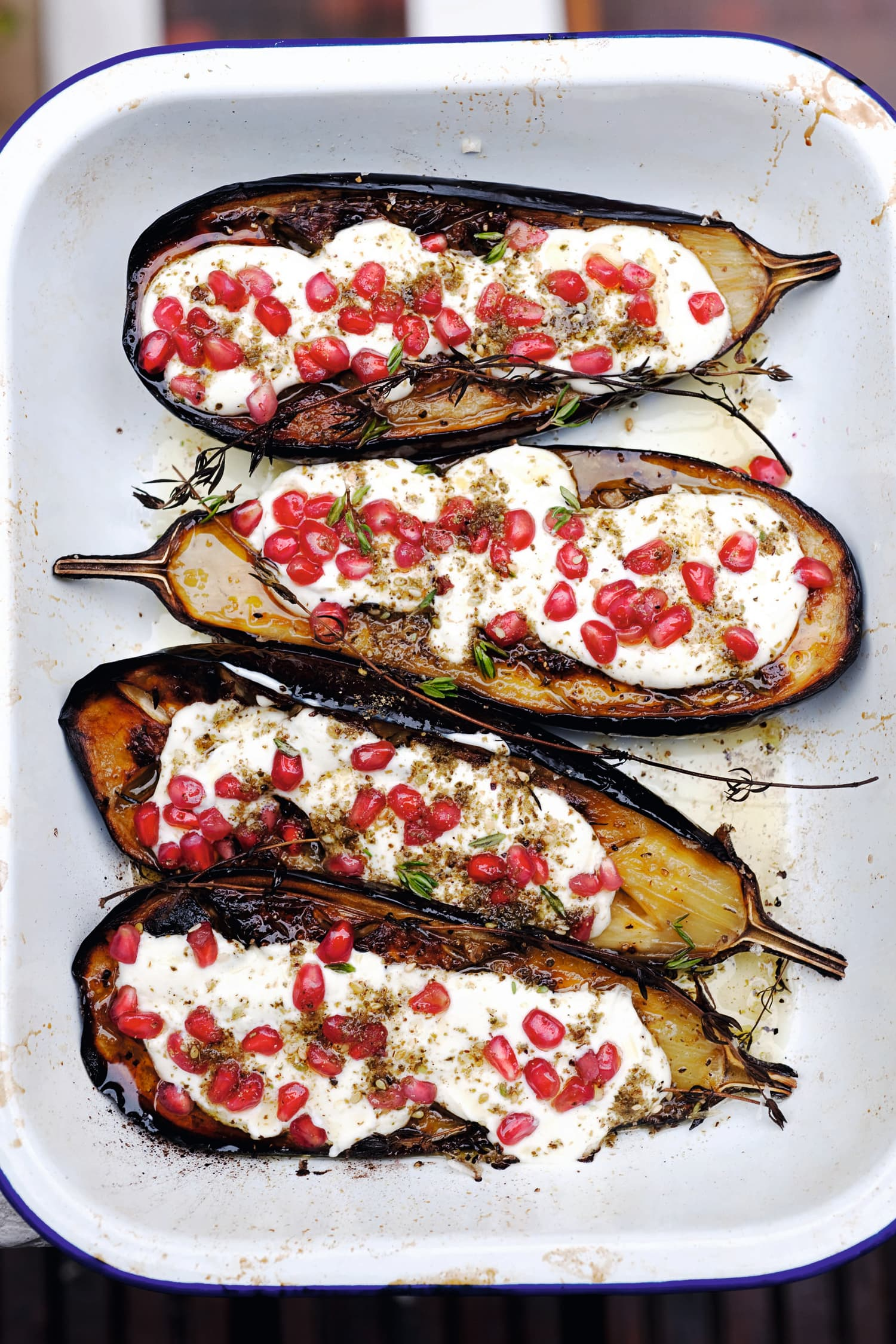 Ottolenghi's Eggplant with Buttermilk Sauce Is One of the Most Iconic Recipes of the Past Decade