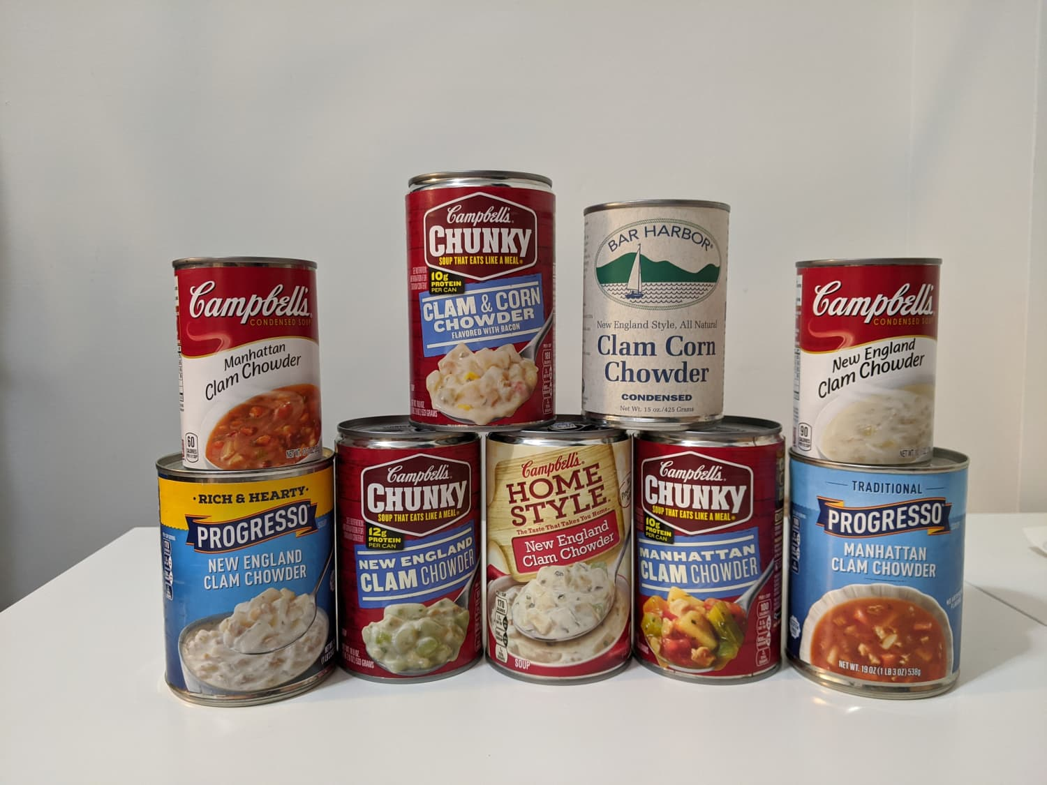 I Tried 9 Cans of Clam Chowder — And There Were Two Clear Winners