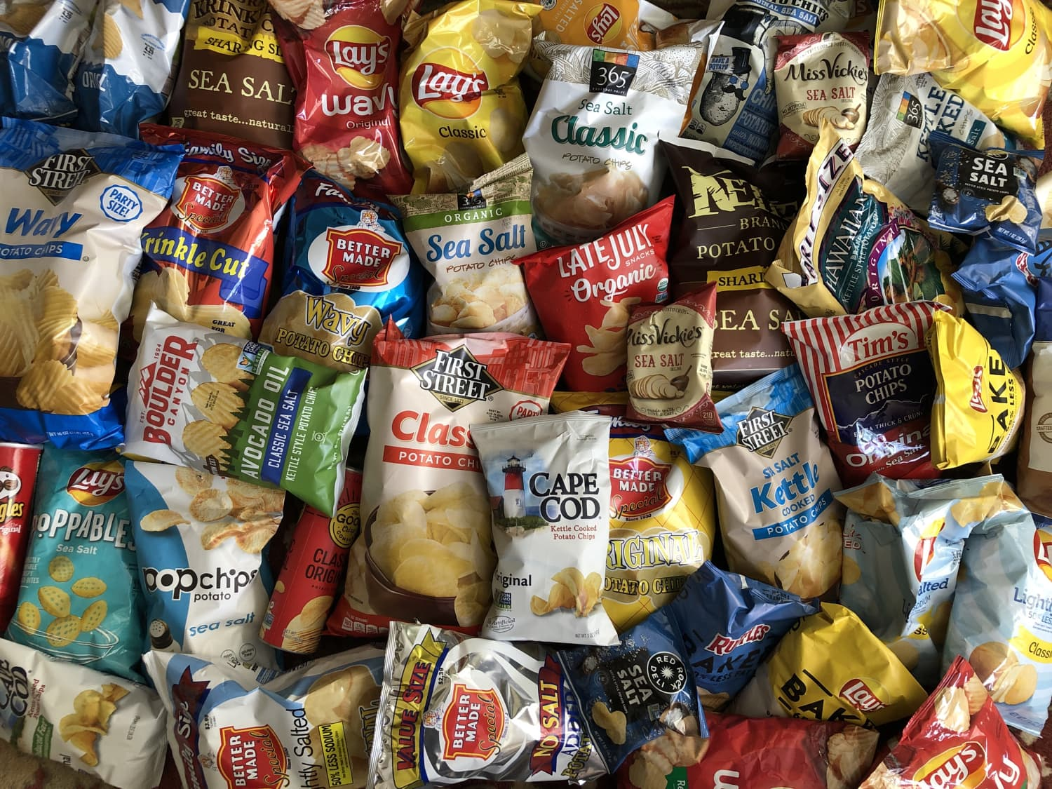 I Tried 40 Bags of Plain Potato Chips (Yes, 40) and Here Are the Best Ones