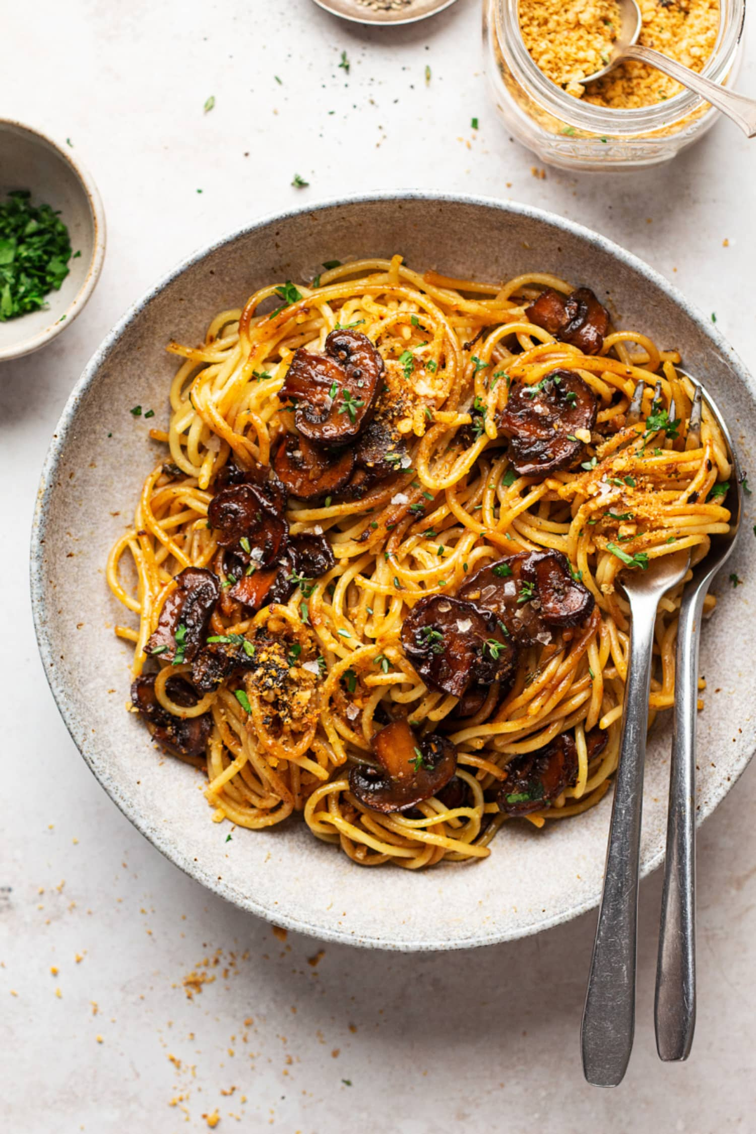 Vegan Balsamic Mushroom Pasta Is a Masterclass in Flavor