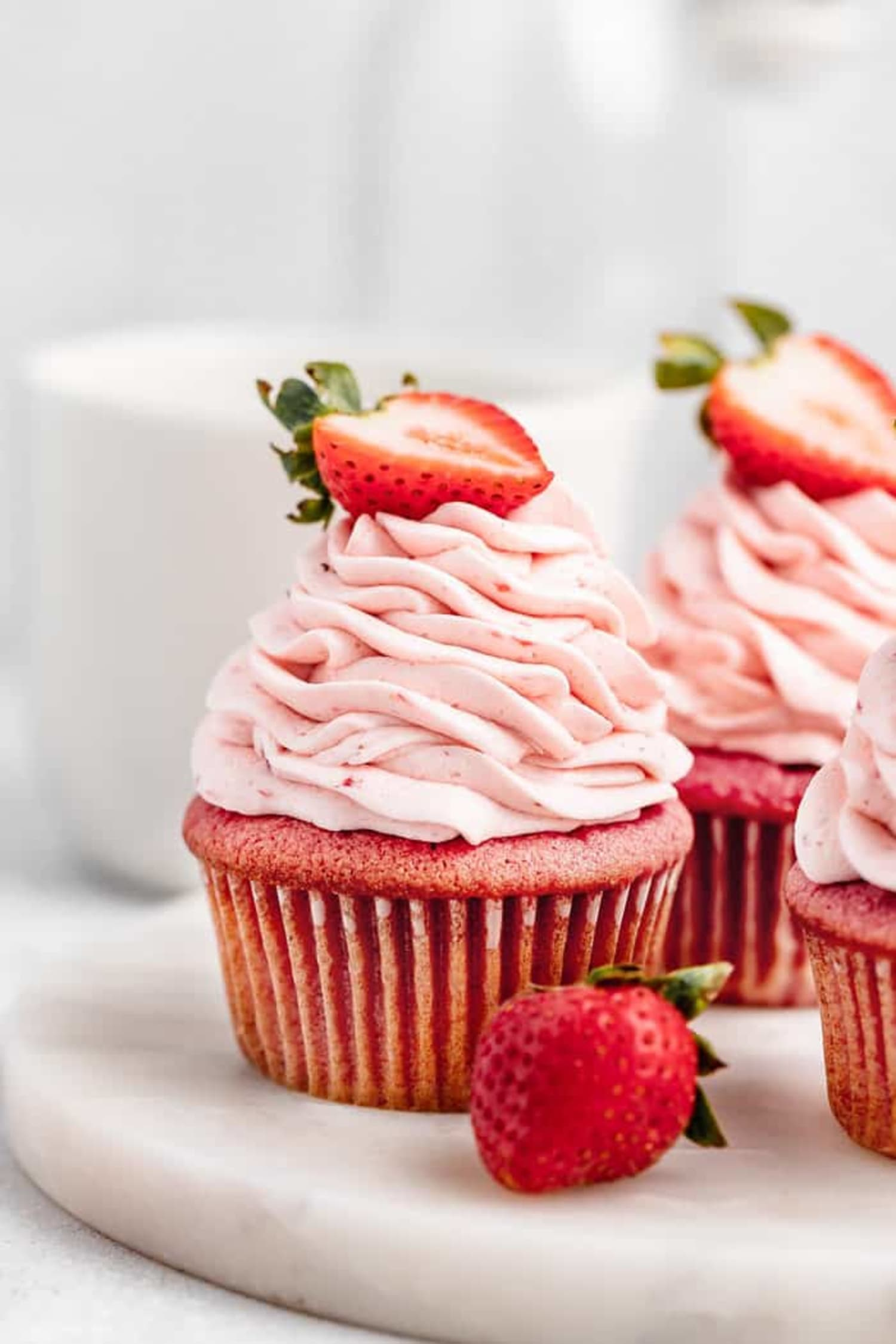 These Strawberry Cupcakes Are a Must-Make Summer Recipe
