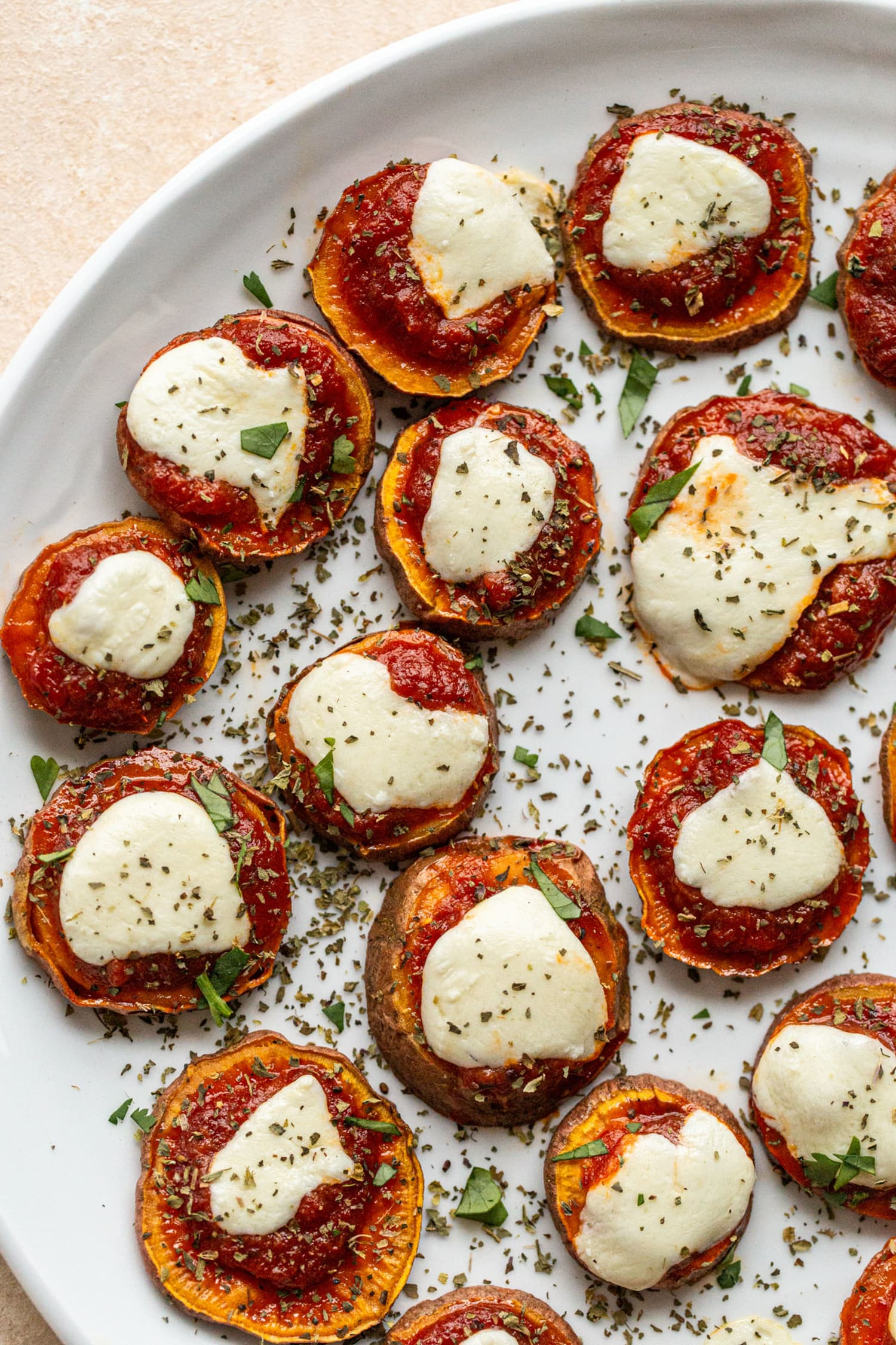 "Sweet Potato Pizza Bites Are the Ultimate ""I'm Hangry"" Snack"