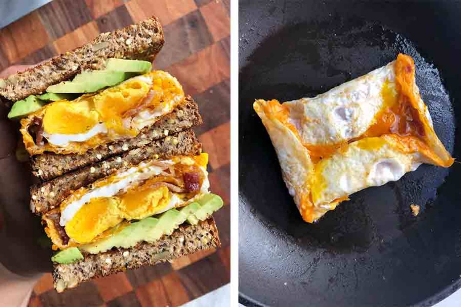 "I Tried This Brilliant ""Egg Pocket"" Trick for Making Breakfast Sandwiches"