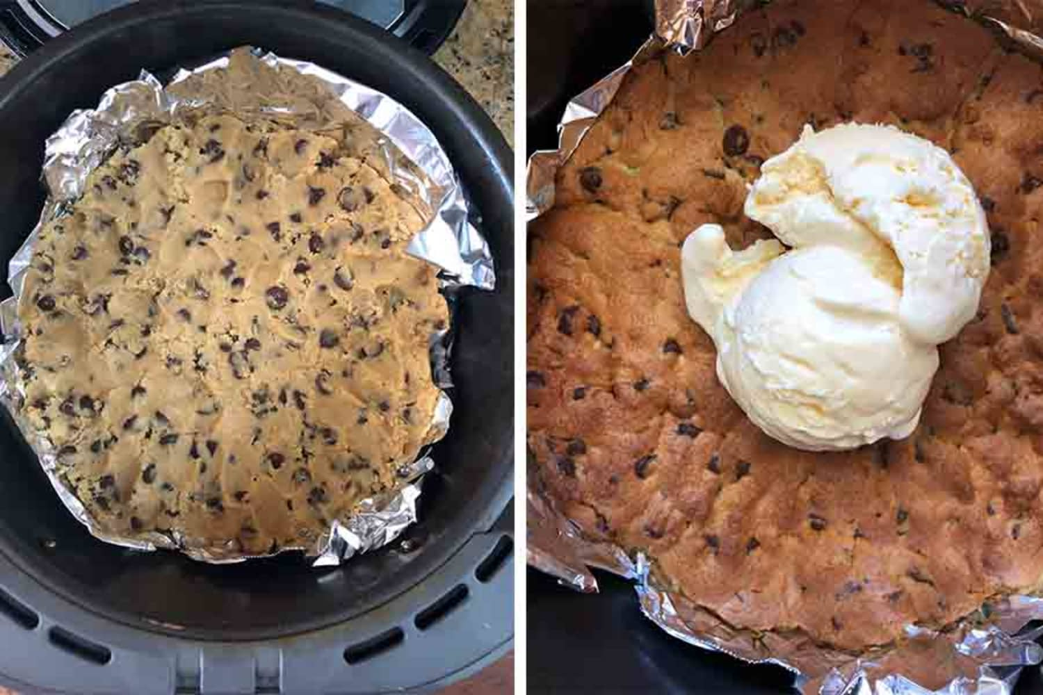 I Tried the Giant Air Fryer Cookie the Internet Can't Get Enough of