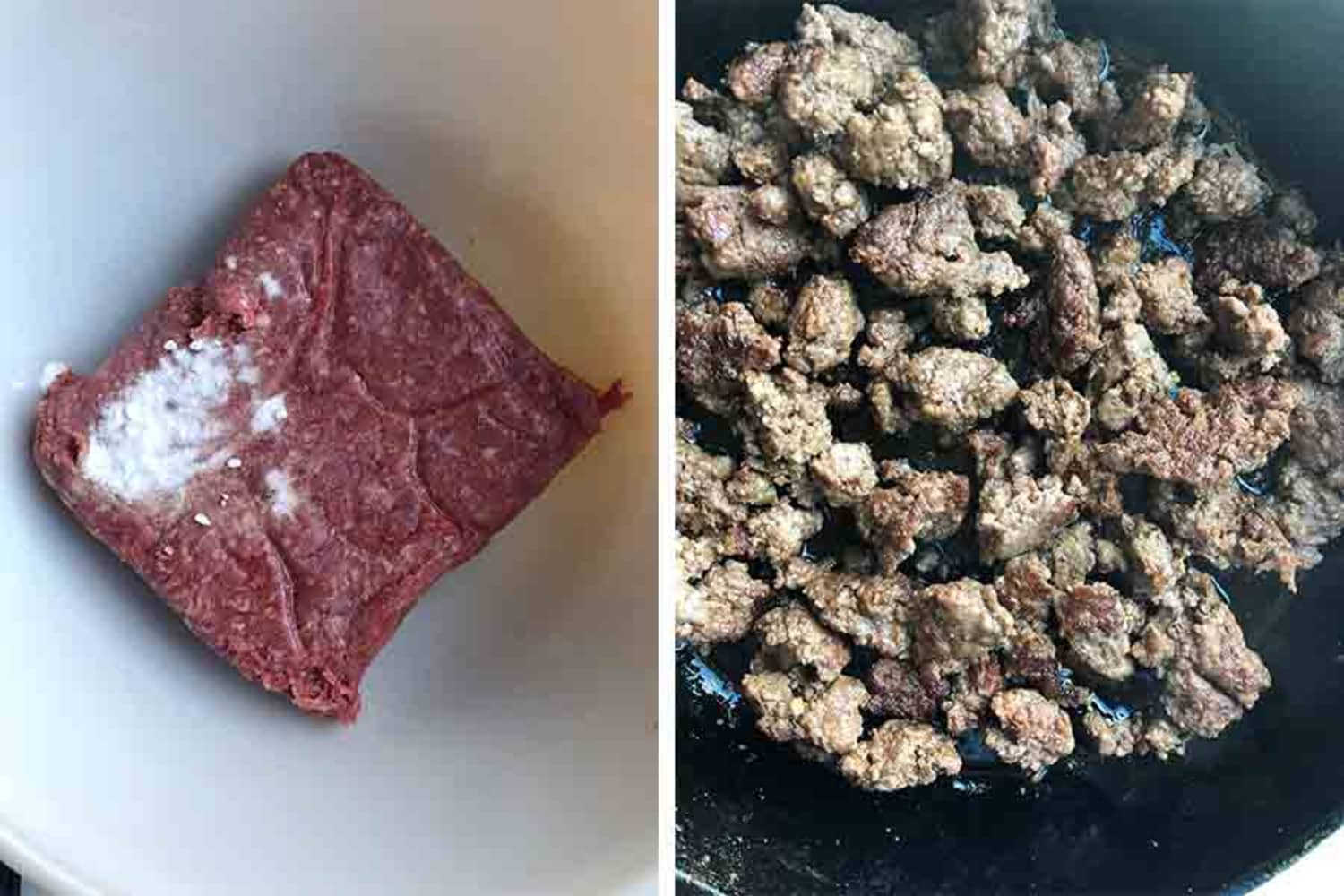 I Can't Believe How Well This One-Ingredient Trick Works for Cooking Ground Beef