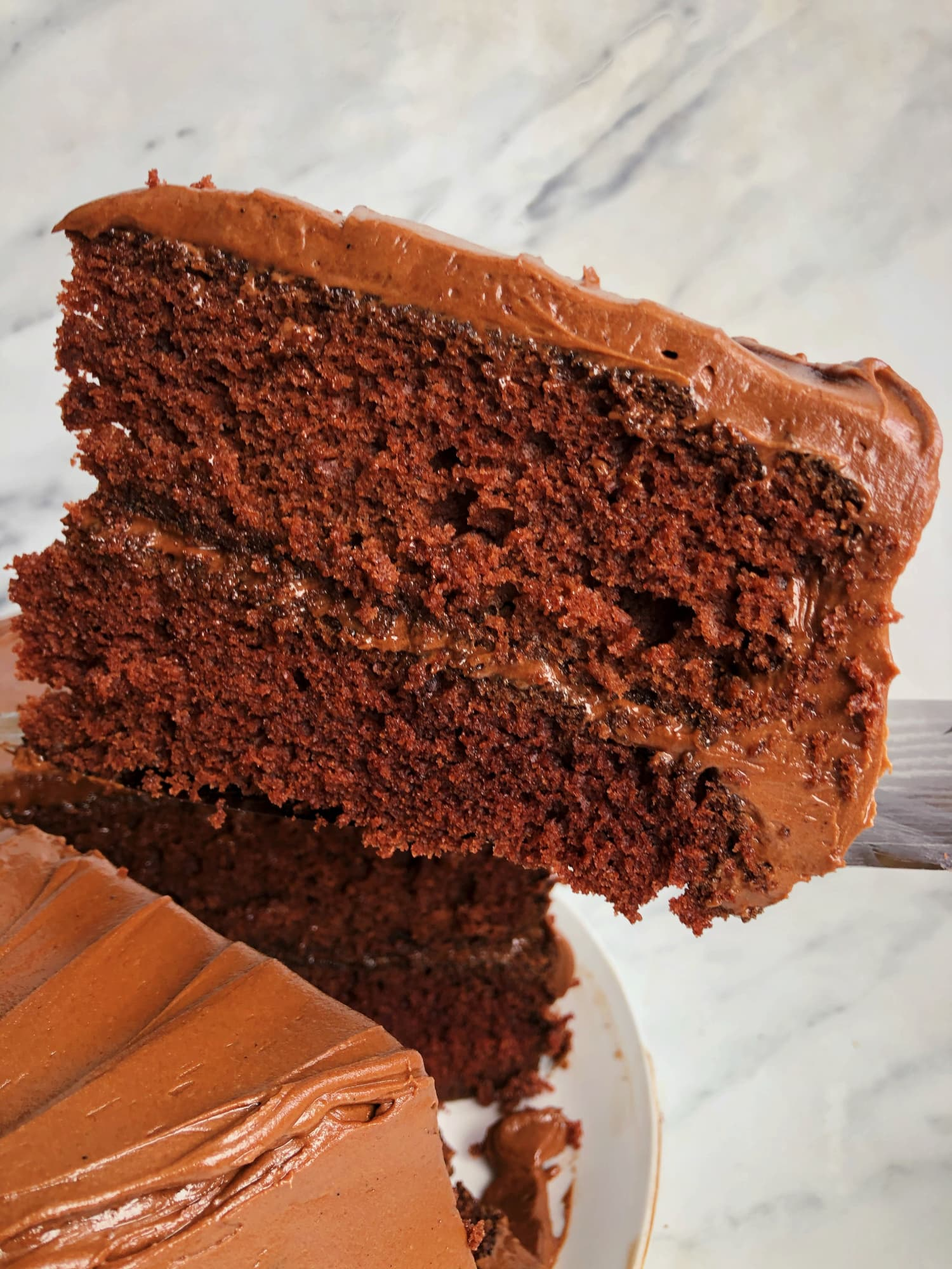 """This 1950s """"Feathery Fudge Cake"""" Will Make You Feel Like a Pastry Chef (But It's So Easy)"""