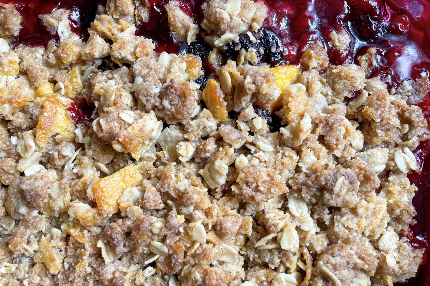 The One Thing Your Summer Fruit Crisp Is Missing (It Makes the Topping So Much Better!)