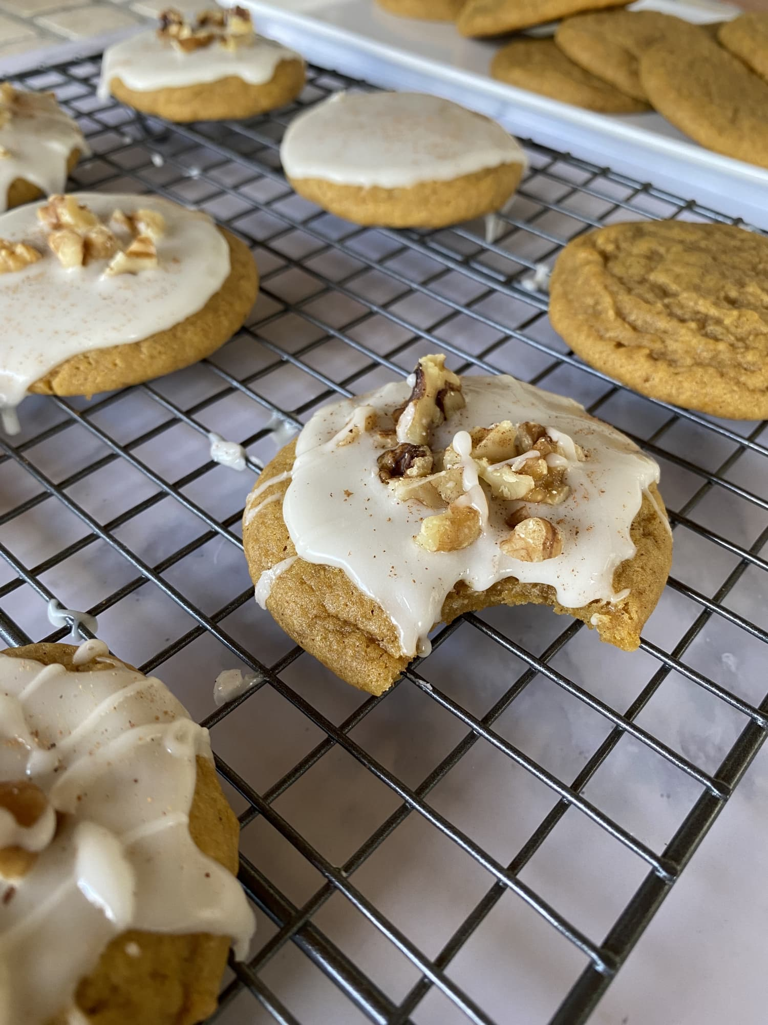 Tired of Cakey Pumpkin Cookies? Try This Recipe for Soft, Chewy Cookies.