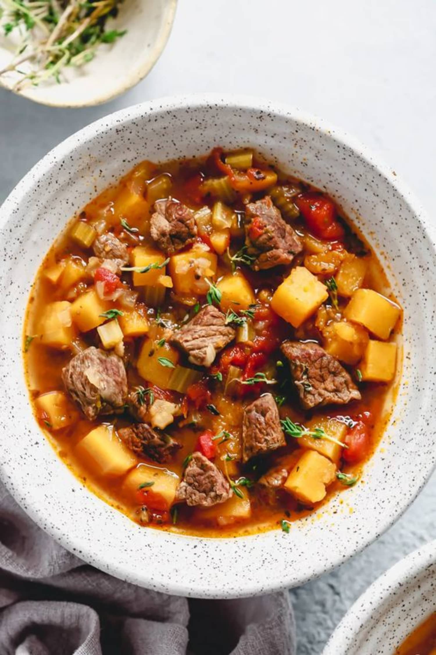 Make Classic Beef and Vegetable Soup in Your Instant Pot Tonight