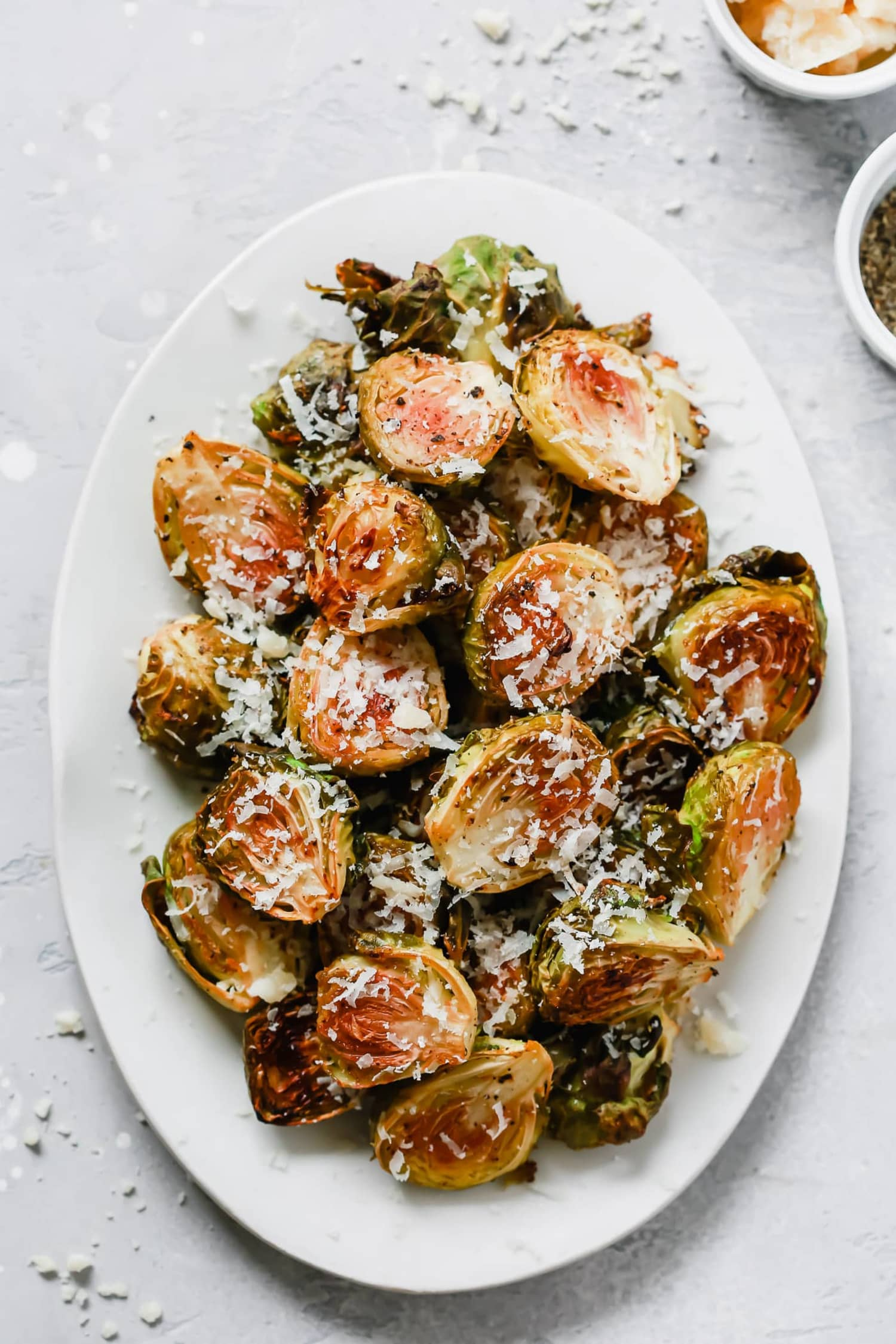 These Garlic-Parmesan Roasted Brussels Sprouts Are Calling Your Name