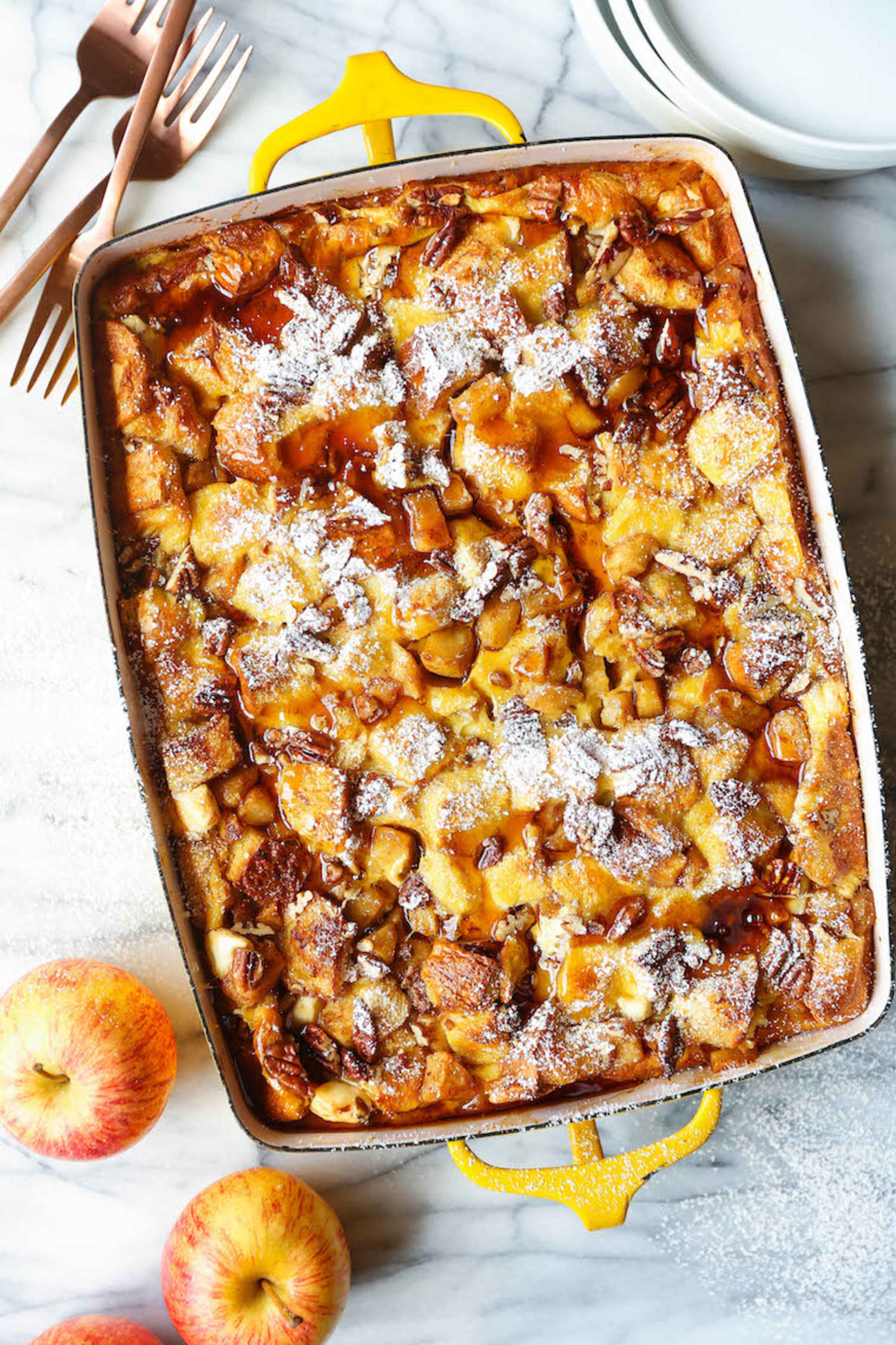 Prep This Cinnamon Apple French Toast the Night Before to Wake Up to a Spectacular Breakfast