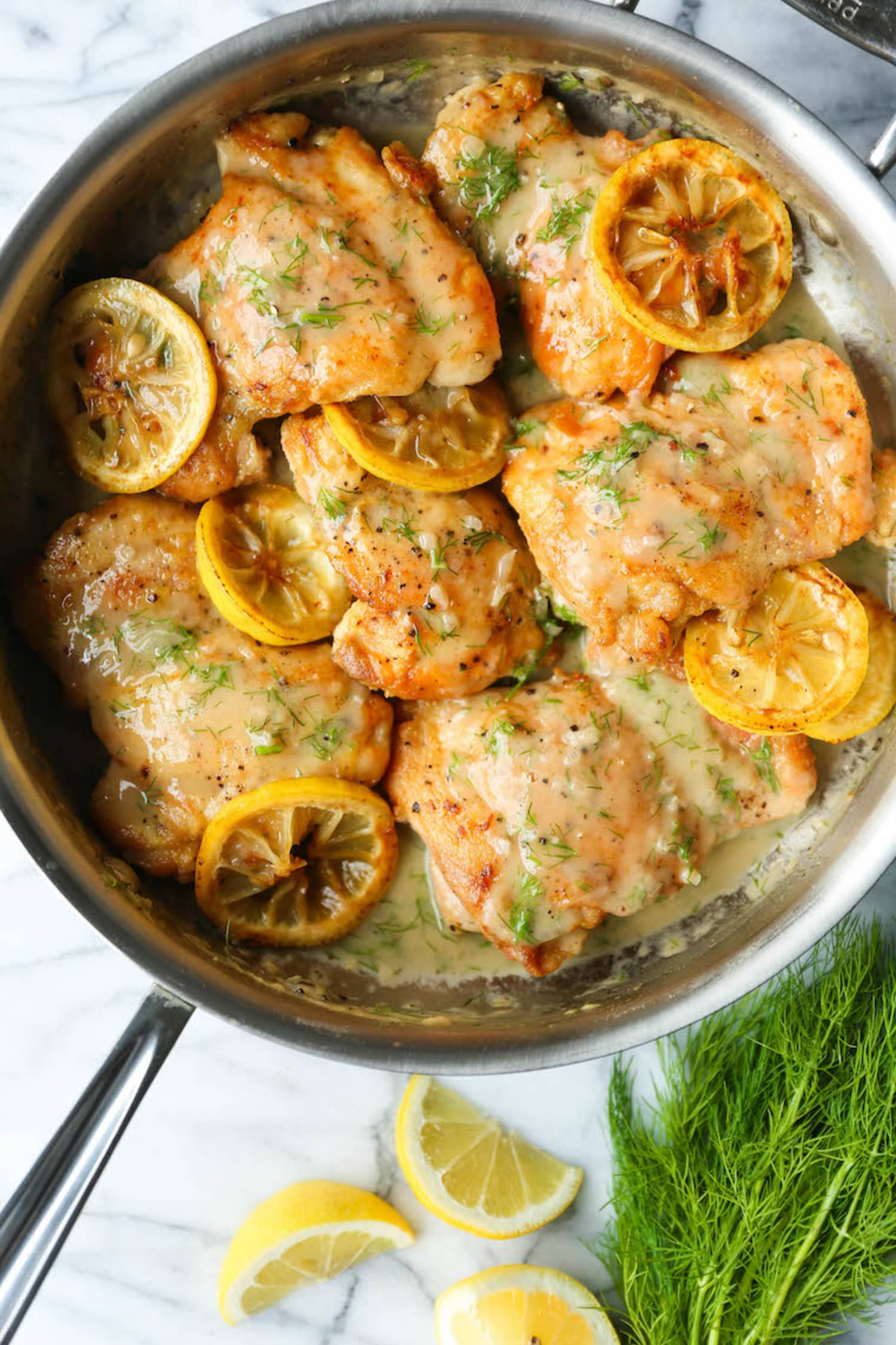 Lemon Dill Chicken Thighs Are the One-Skillet Weeknight Meal You Crave