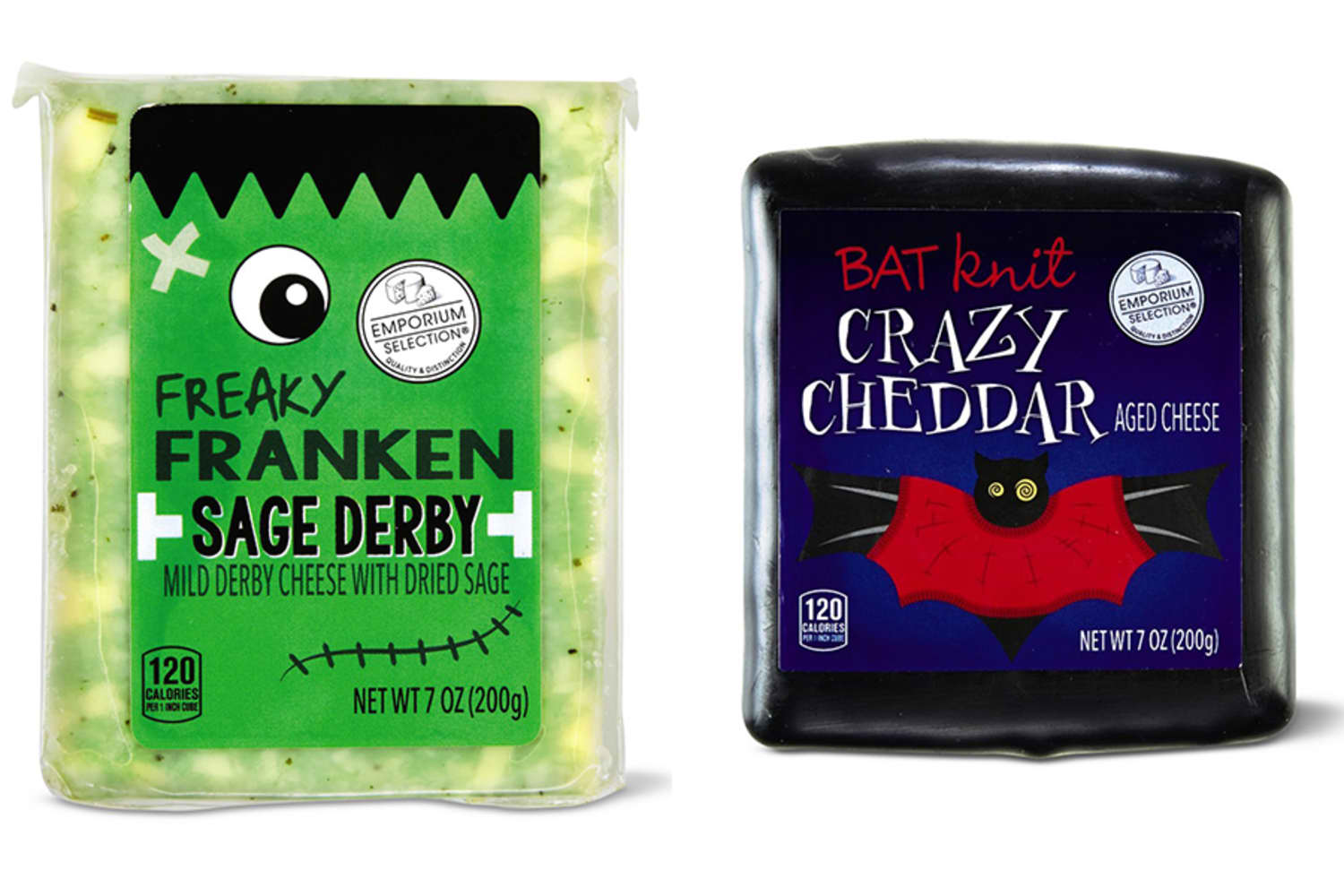 ALDI's New Limited-Edition Cheeses for Halloween Are Scary Good