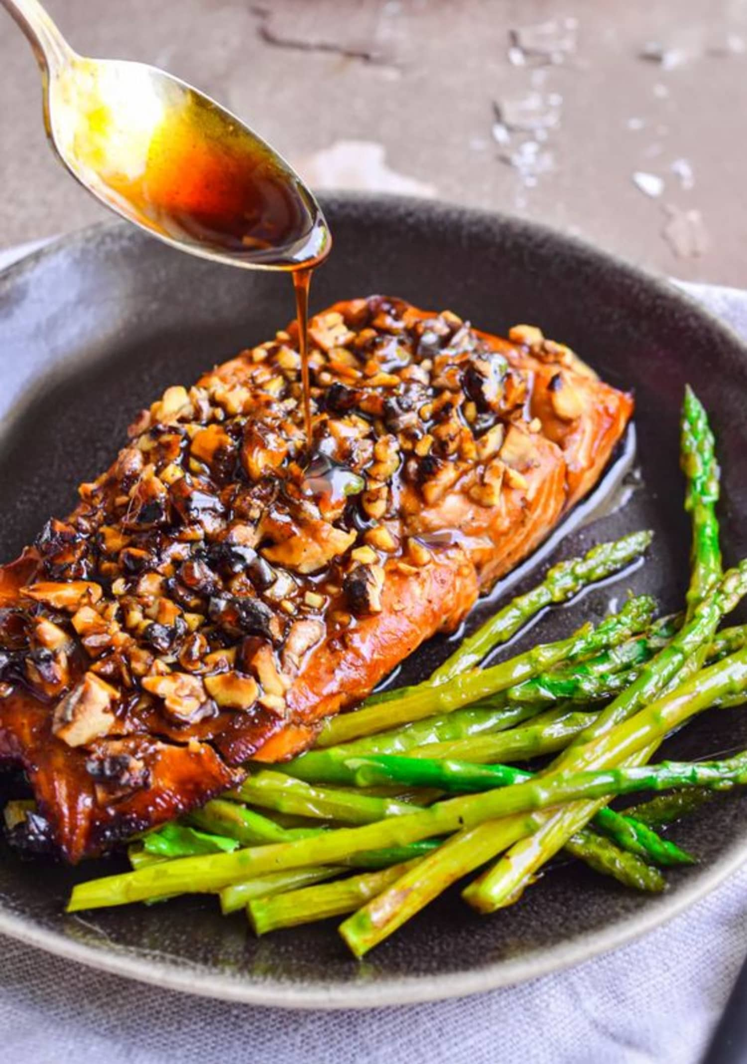 This Bourbon Brown Sugar Salmon Tastes as Delicious as It Looks