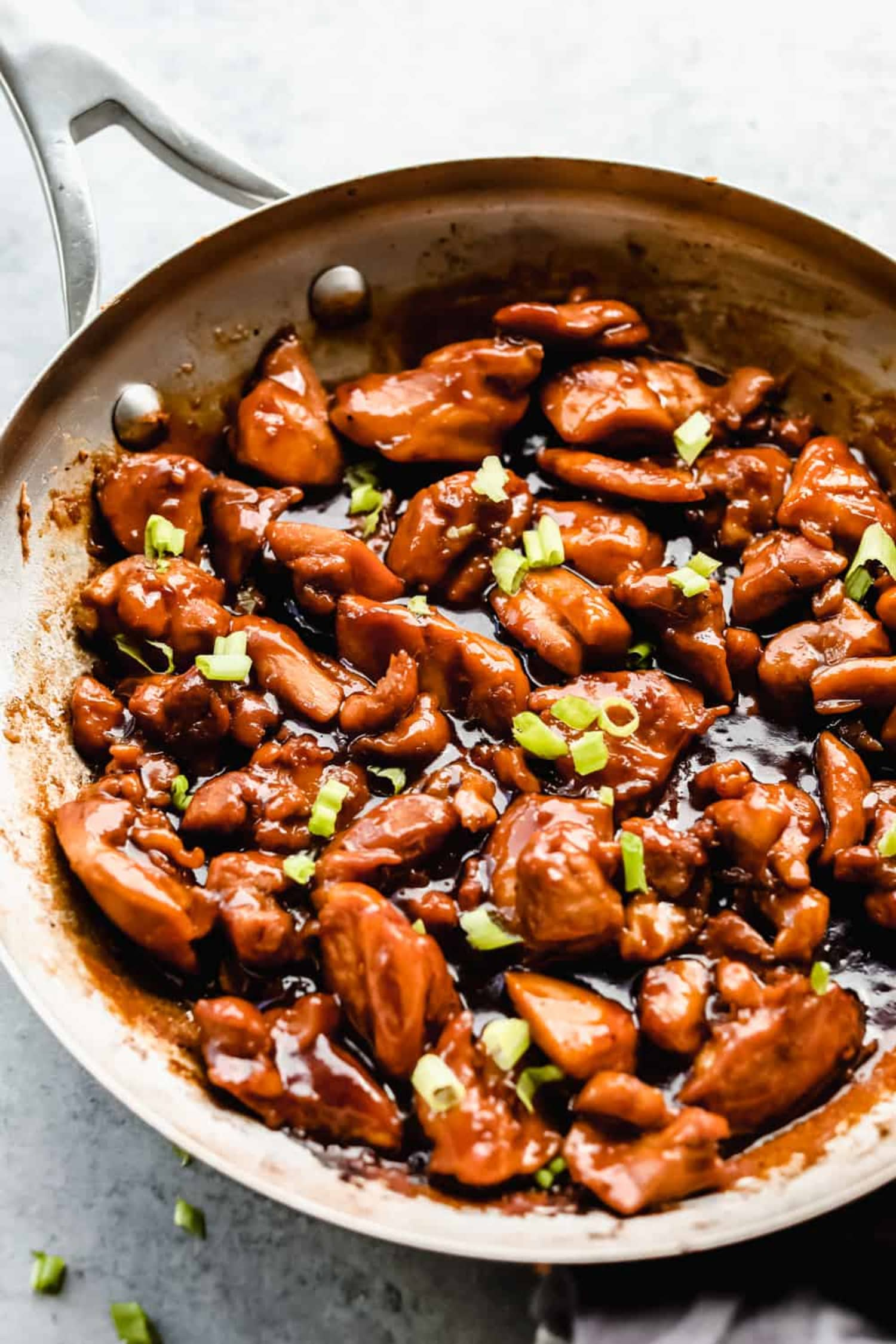Sweet, Sticky Bourbon Chicken Is a Weeknight Winner