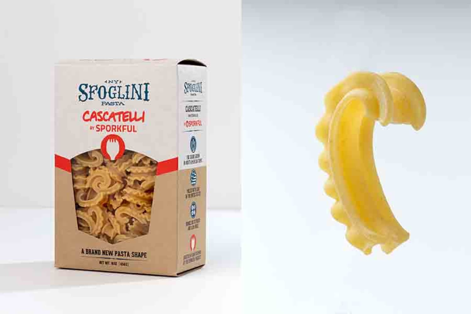 This New Pasta Shape Took 3 Years to Make (Here's Why It's So Great)