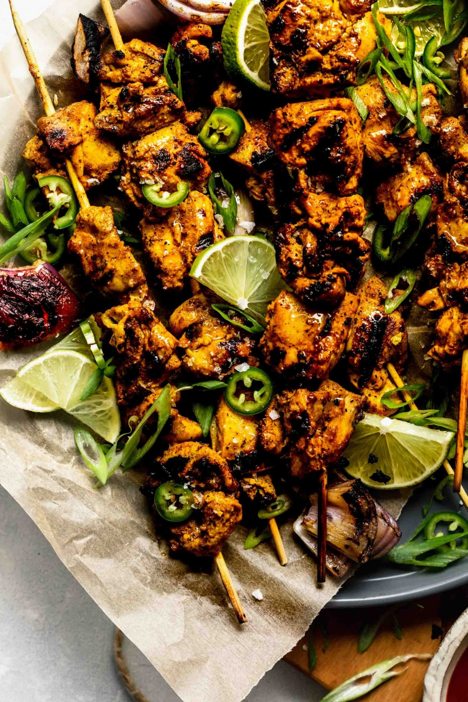 Make These Curry Lime Chicken Skewers for Dinner This Week
