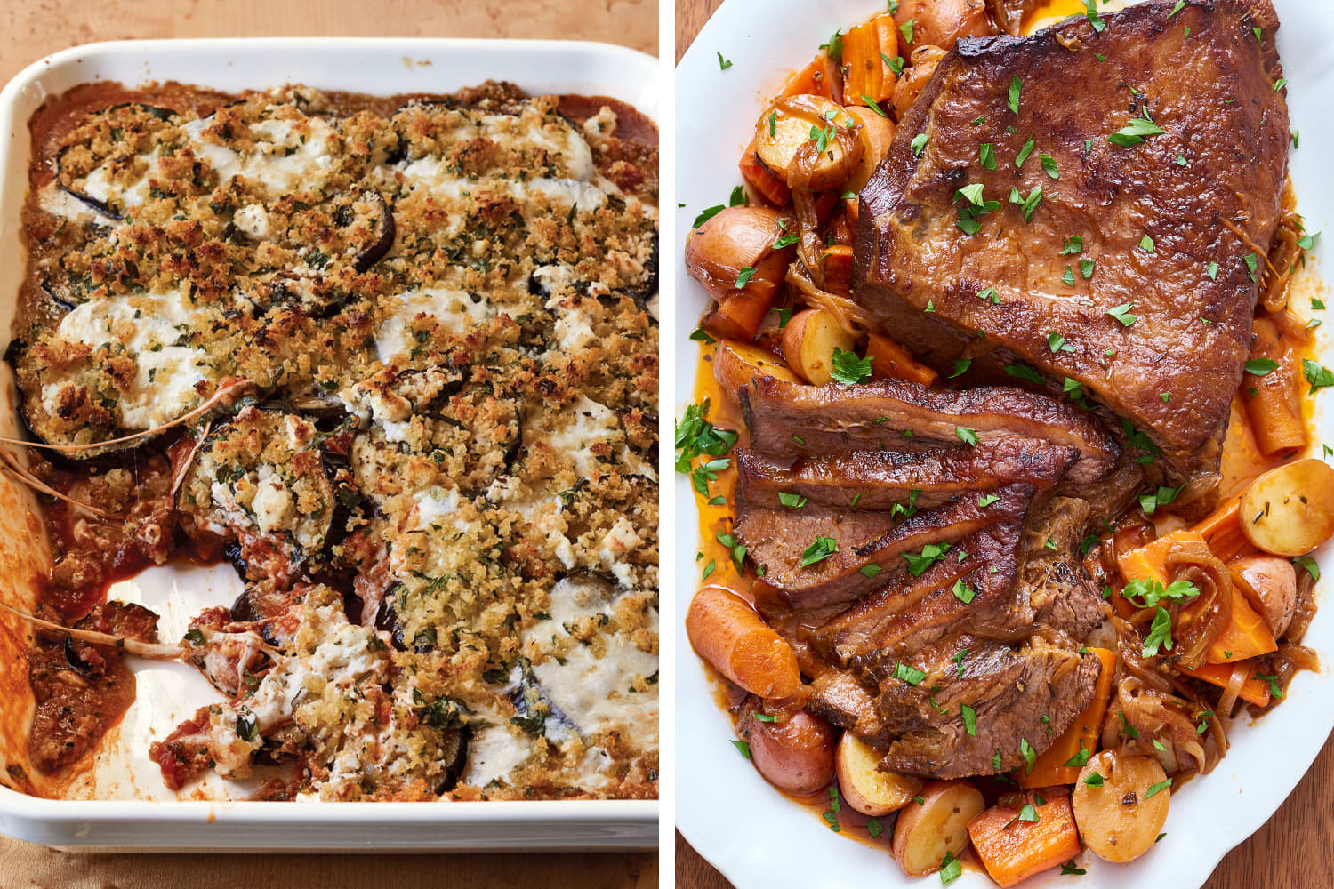 Two Sample Menus for Your Final Cooking School Assignment