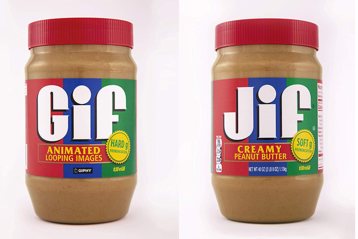 Jif Peanut Butter Teamed Up with Giphy to FINALLY Settle How You Pronounce GIF (Maybe?)