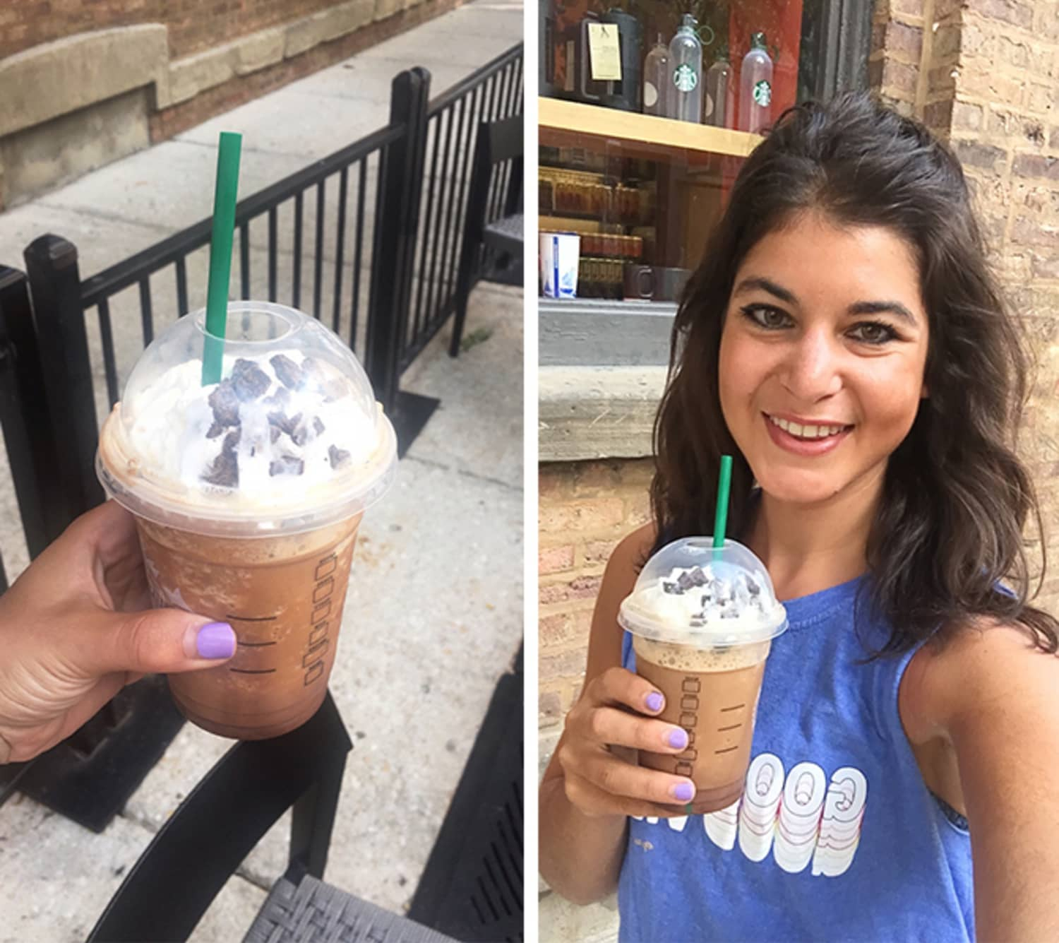 """I Tried the New Starbucks """"Secret Drink"""" for Fall — the Jack Skellington Frappuccino"""