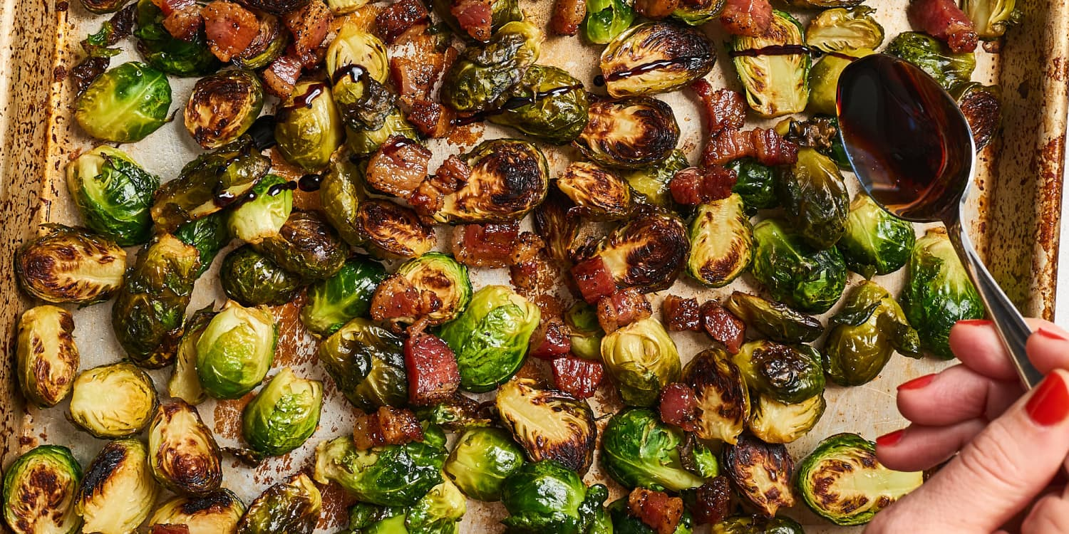 I Tried Ina Garten's Balsamic-Roasted Brussels Sprouts