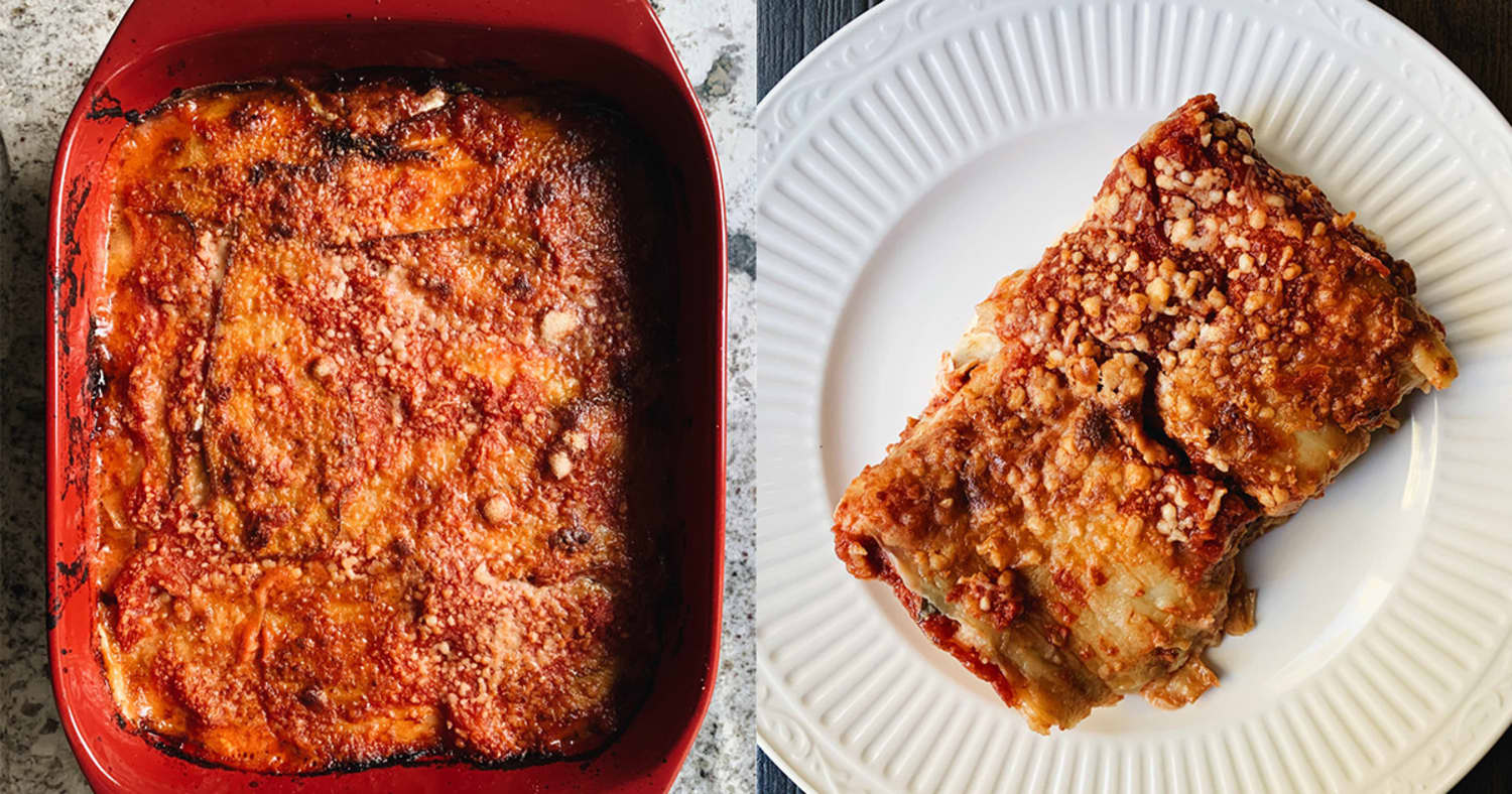Marcella Hazan's Eggplant Parmesan Is the Only Recipe You Need