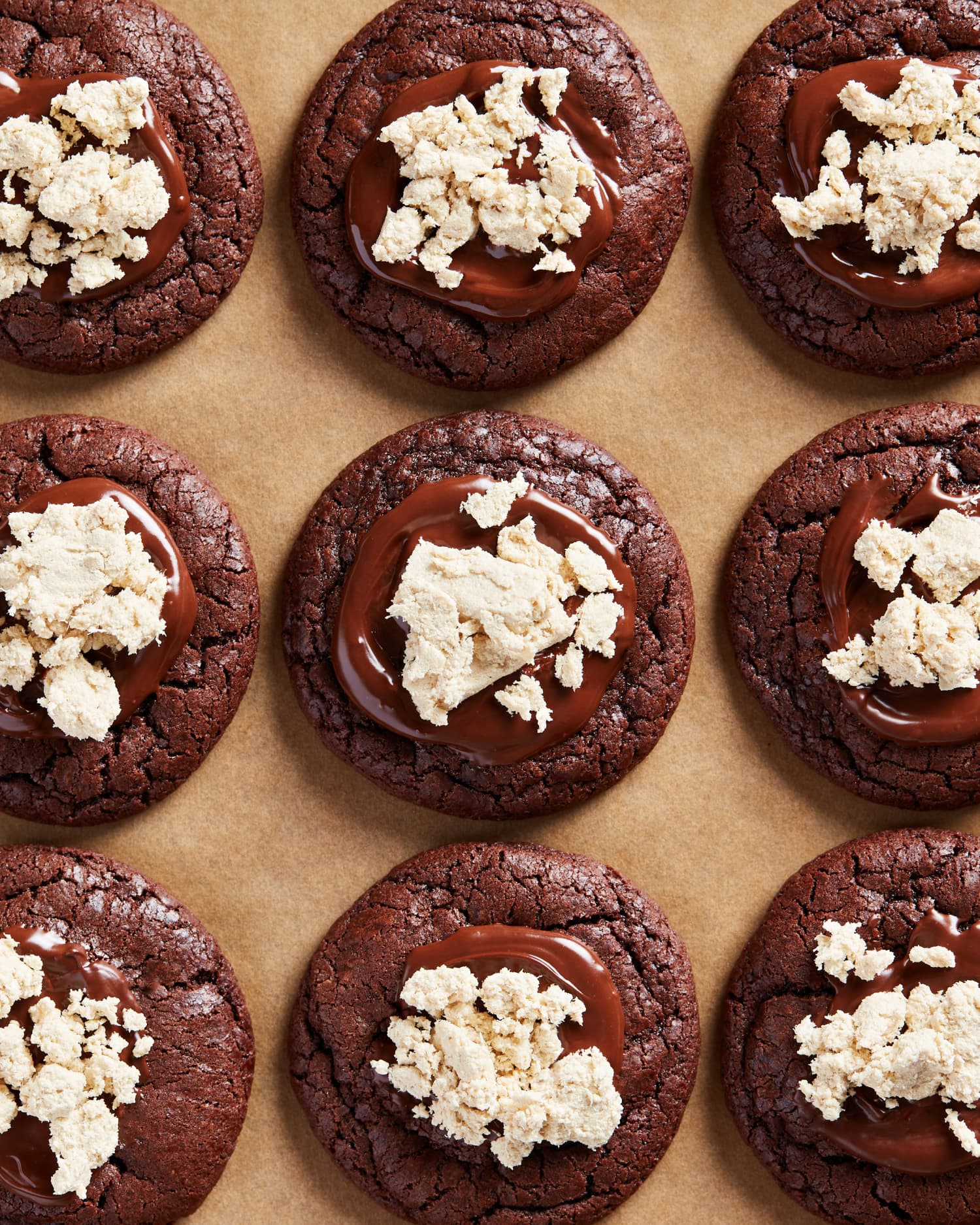 These Chocolate Halawa Cookies Are Rich, Chewy, and Totally Irresistible