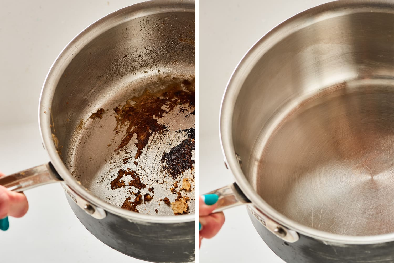 3 Unexpected Hacks That'll Clean a Burnt Pan