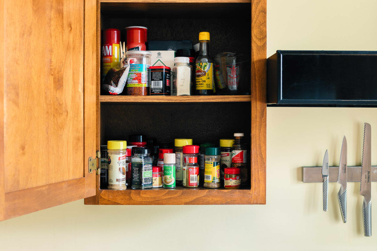 The Easy, $10 IKEA Hack That'll Get All Your Spices in Order