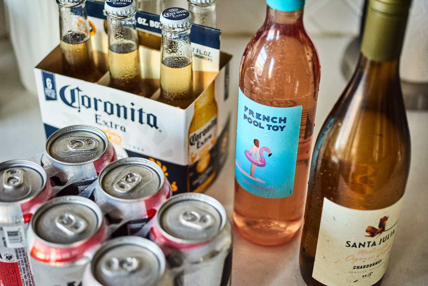 The Very Best Way to (Quickly!) Chill Wine and Beer