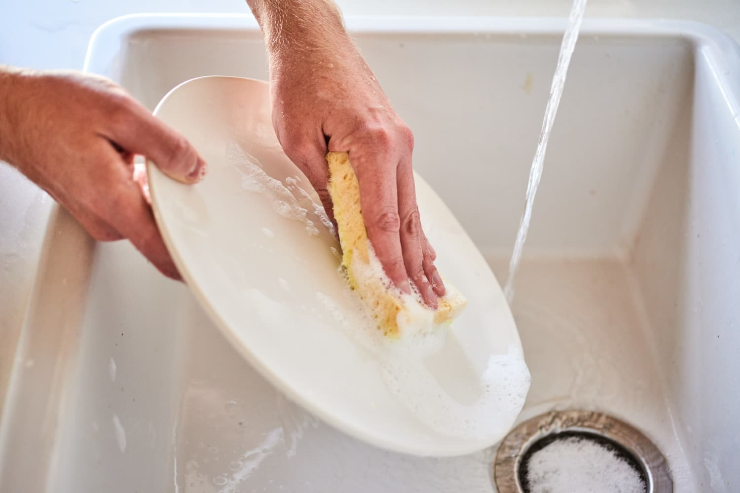 The Free, Easy Way to Make Kitchen Sponges Less Gross