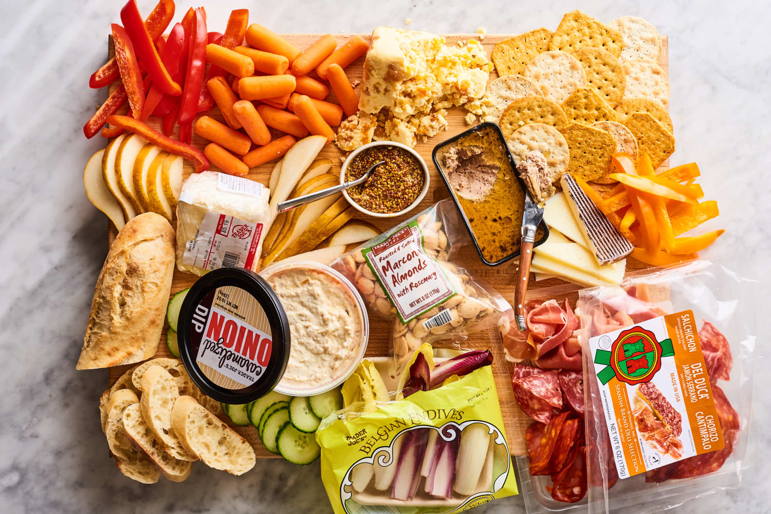 This Overflowing Trader Joe's Charcuterie Board Cost Us Just $6.30 per Person