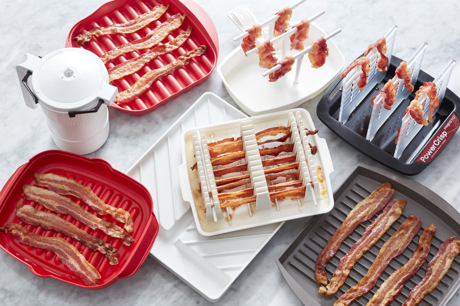 We Tested Nearly a Dozen Microwave Bacon Cookers