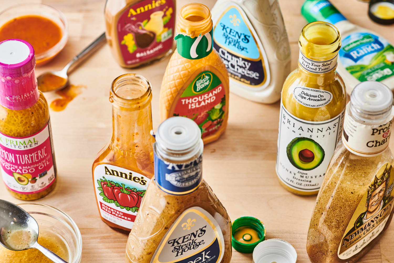 We Tried Every Bottled Salad Dressing We Could Find. Here Are the Winners!