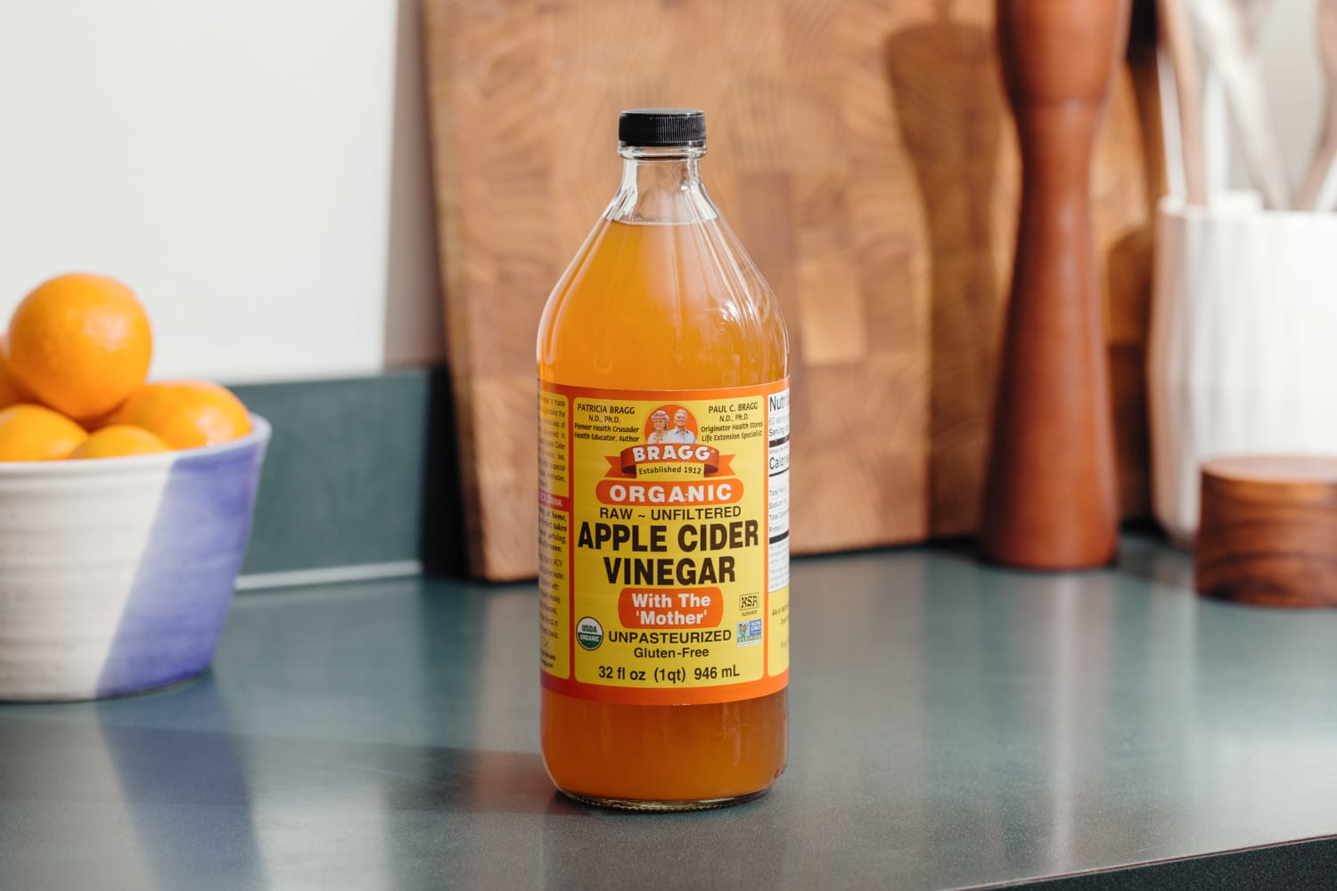 The First Thing You Should Do with a New Bottle of Apple Cider Vinegar