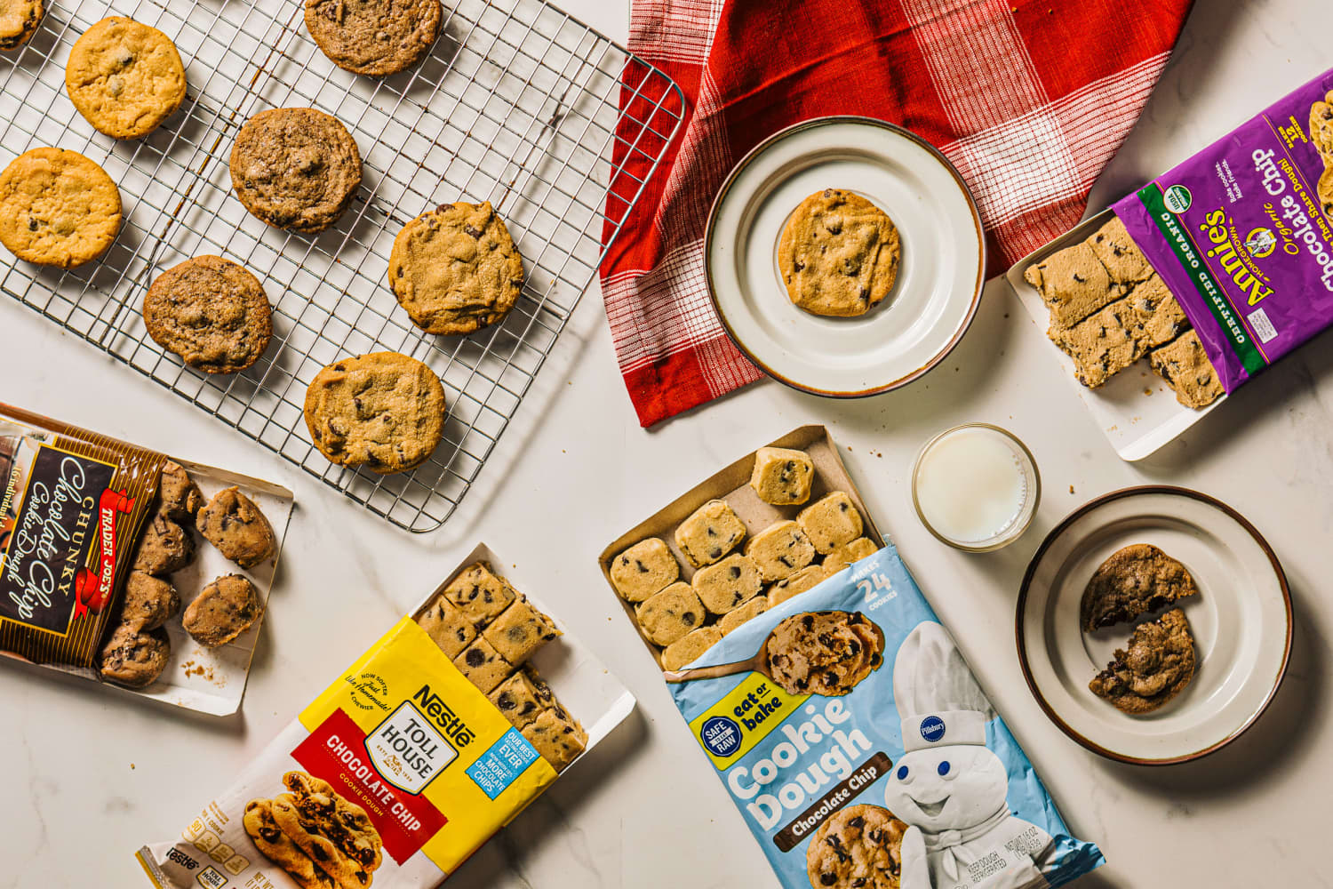 I Tried Every Package of Chocolate Chip Cookie Dough I Could Find — These Are the Two I'll Be Buying Again