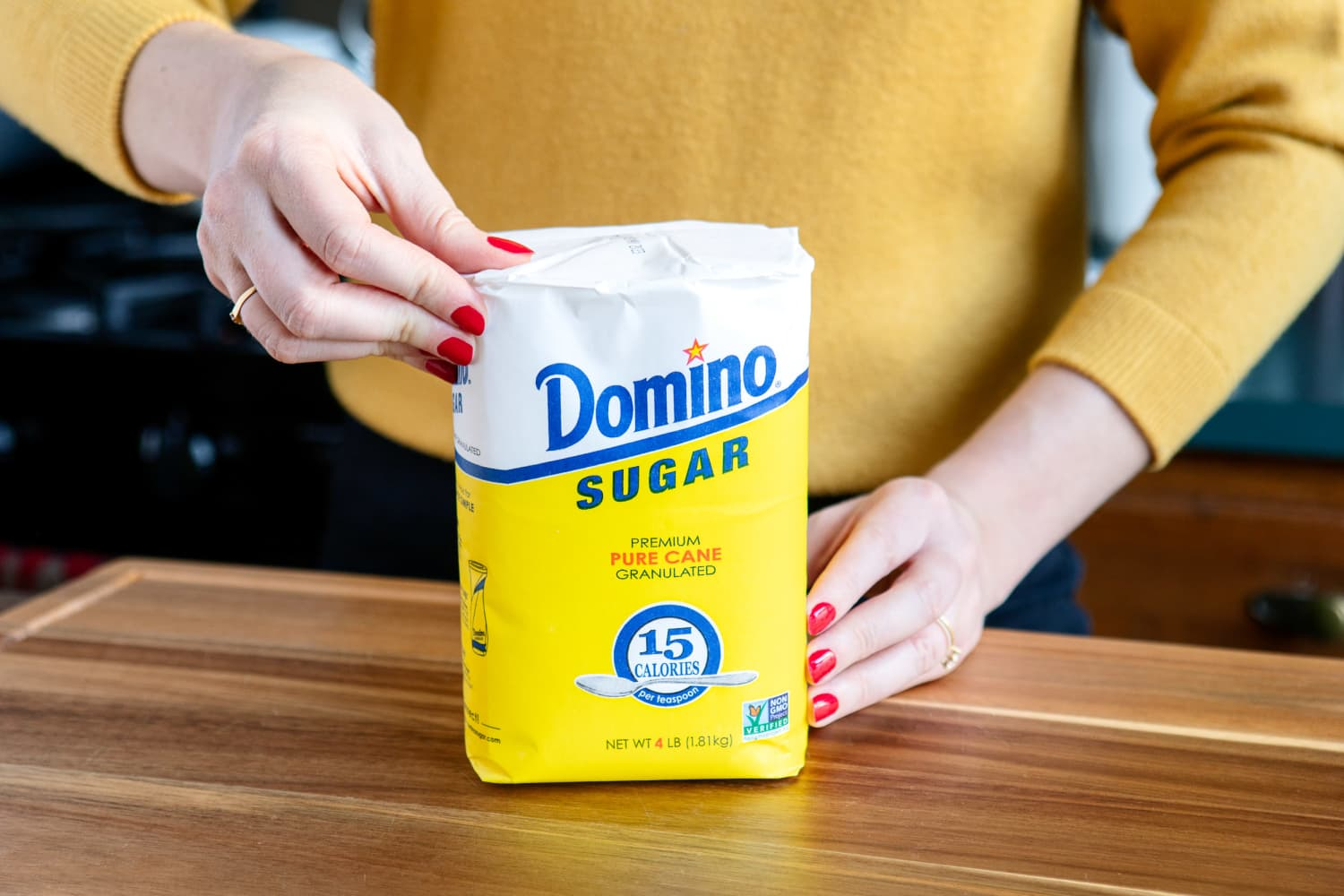 The First Thing You Should Do When You Open a New Bag of Sugar