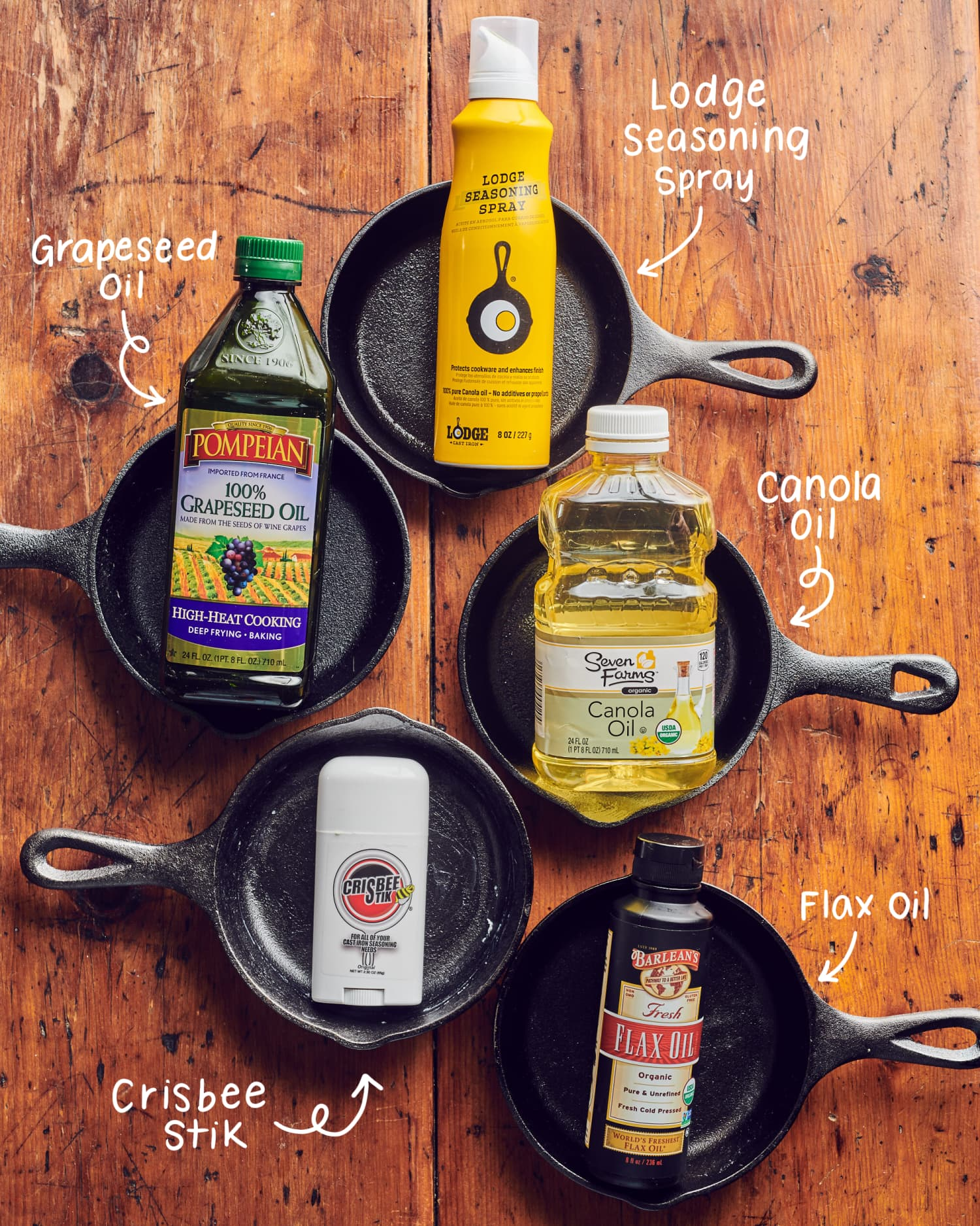 We Seasoned Cast Iron Skillets with 5 Different Oils and Have a New Favorite