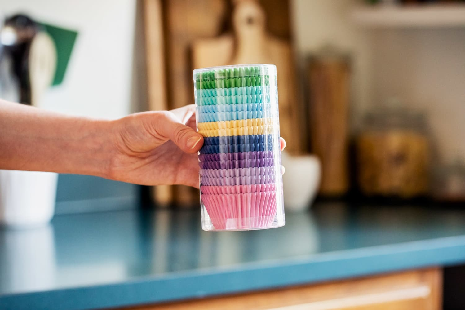 The First Thing You Should Do with a New Pack of Cupcake Liners