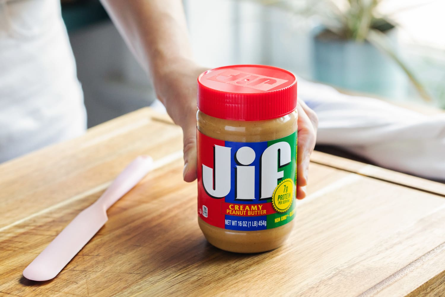 The First Thing to Do with a New Jar of Peanut Butter