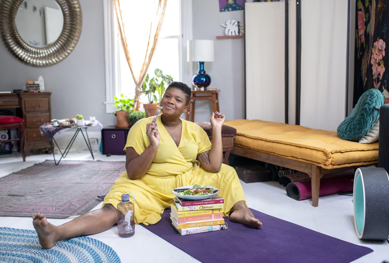 The Way We Eat: Jessamyn Stanley, Yoga Teacher and Activist in Durham, North Carolina