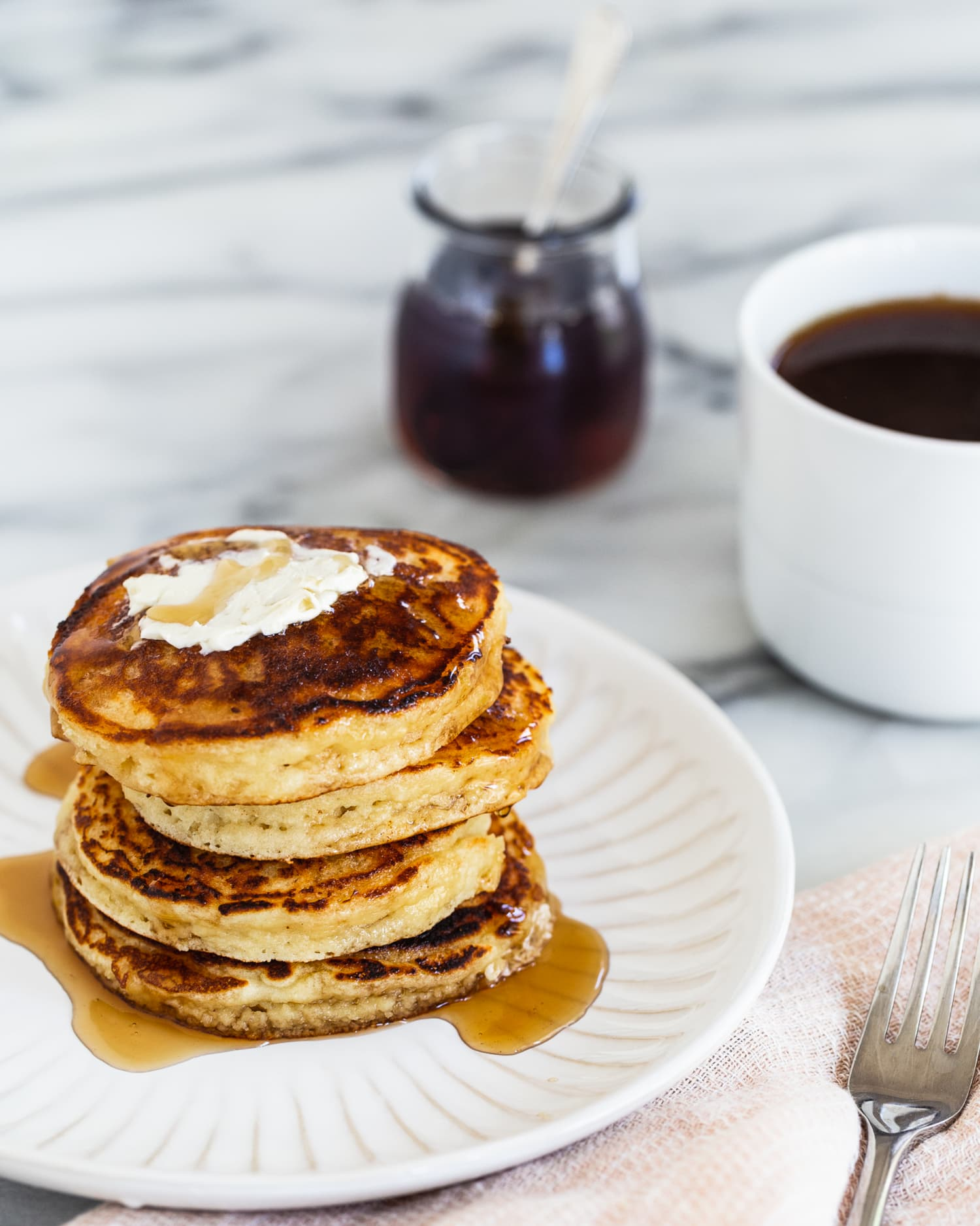 These Almond Flour Pancakes Are Nutty, Tender, and Oh-So Plush